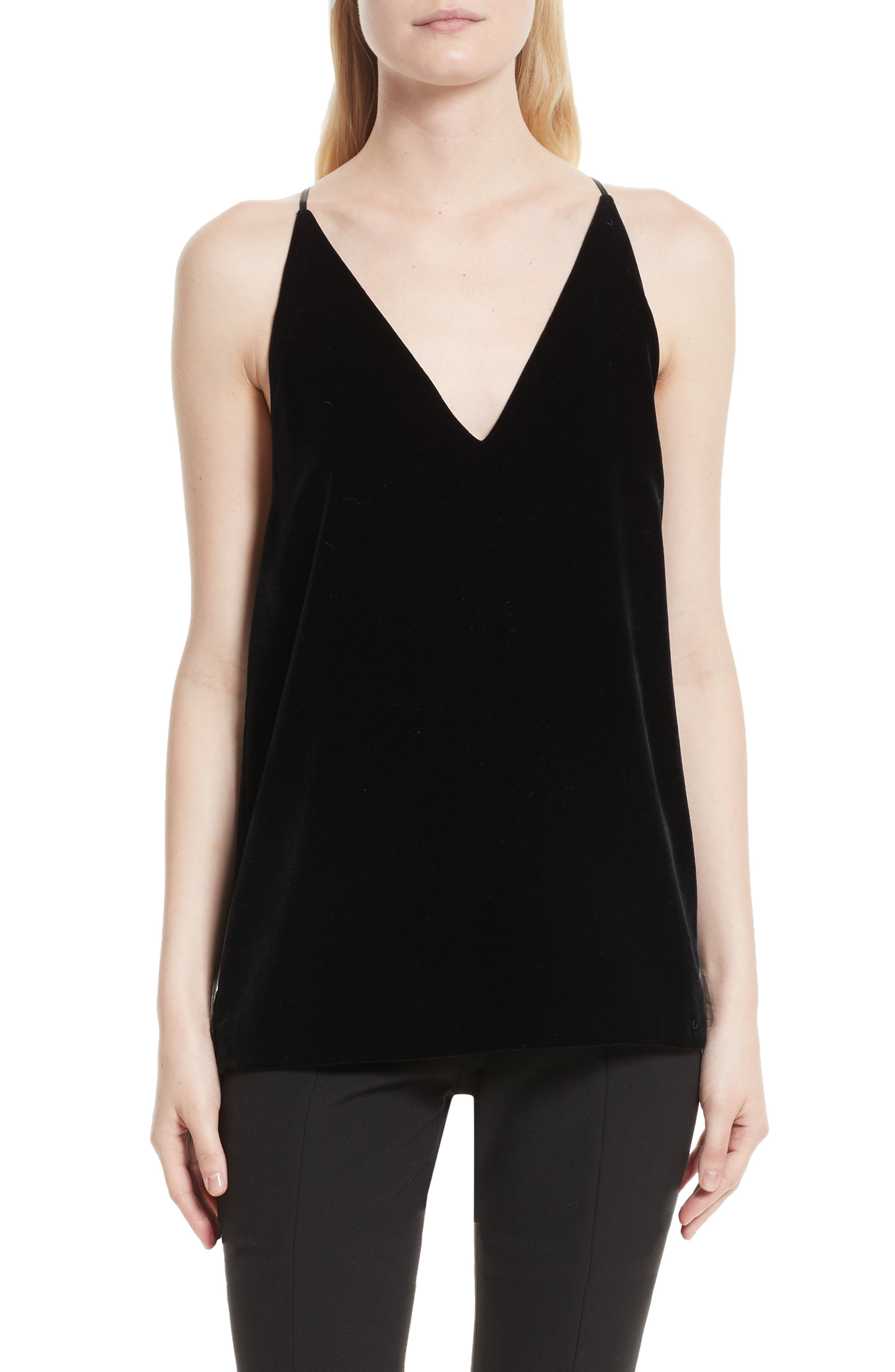 Elizabeth and James Elliott Velvet V-Neck Camisole