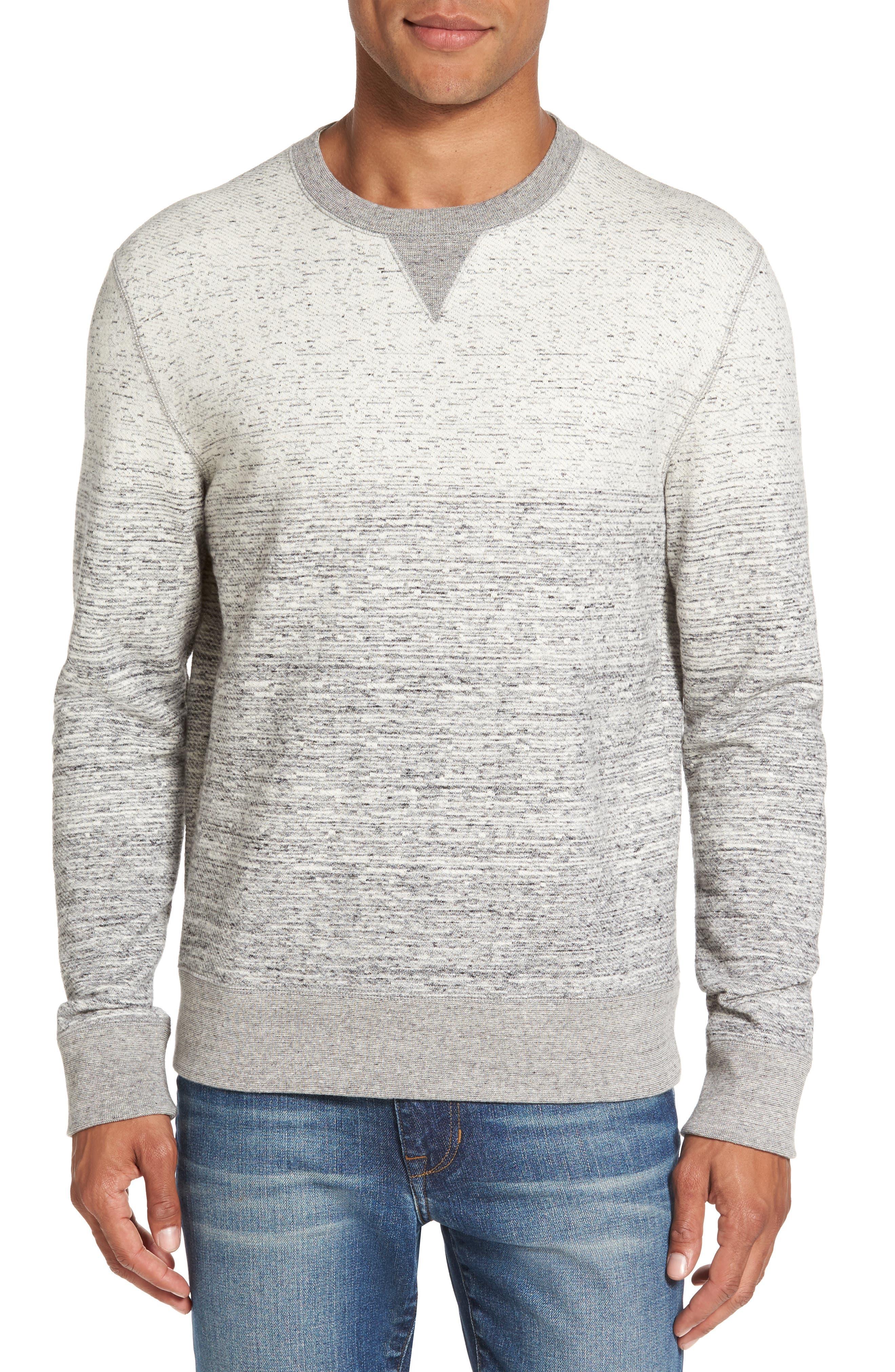 Billy Reid Gradient Crewneck Sweatshirt
