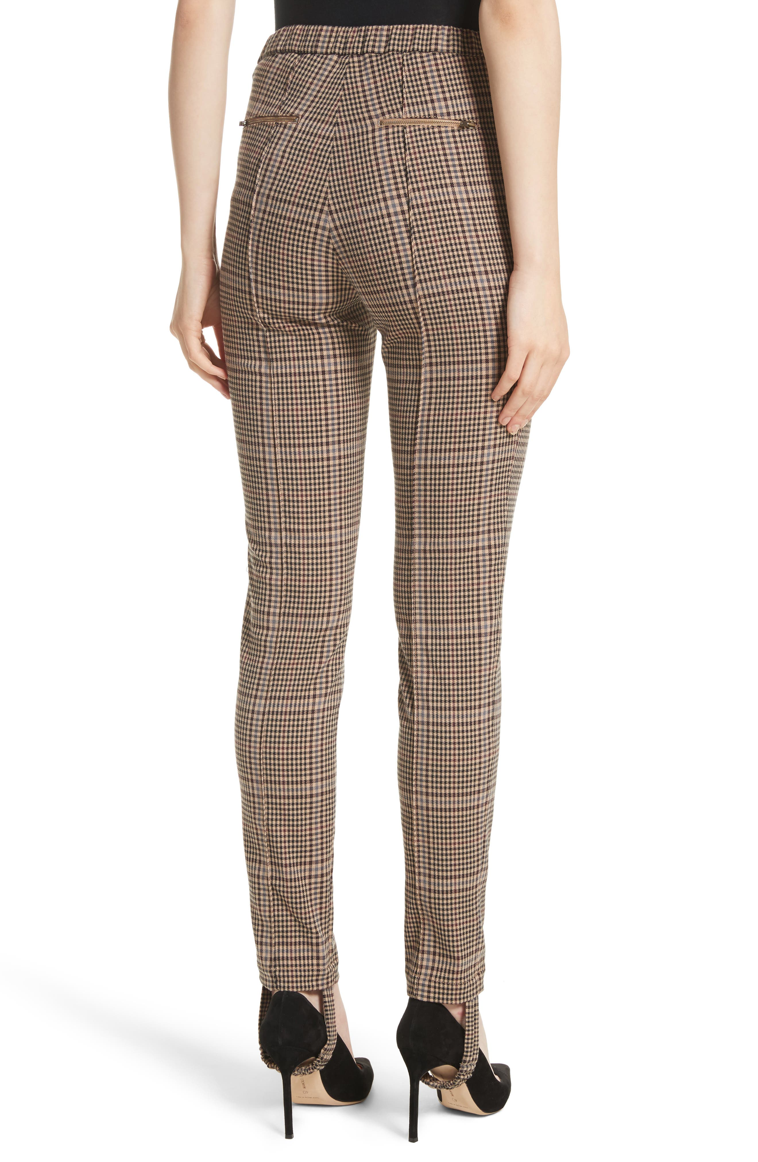 Alternate Image 2  - Tracy Reese Plaid Stirrup Pants