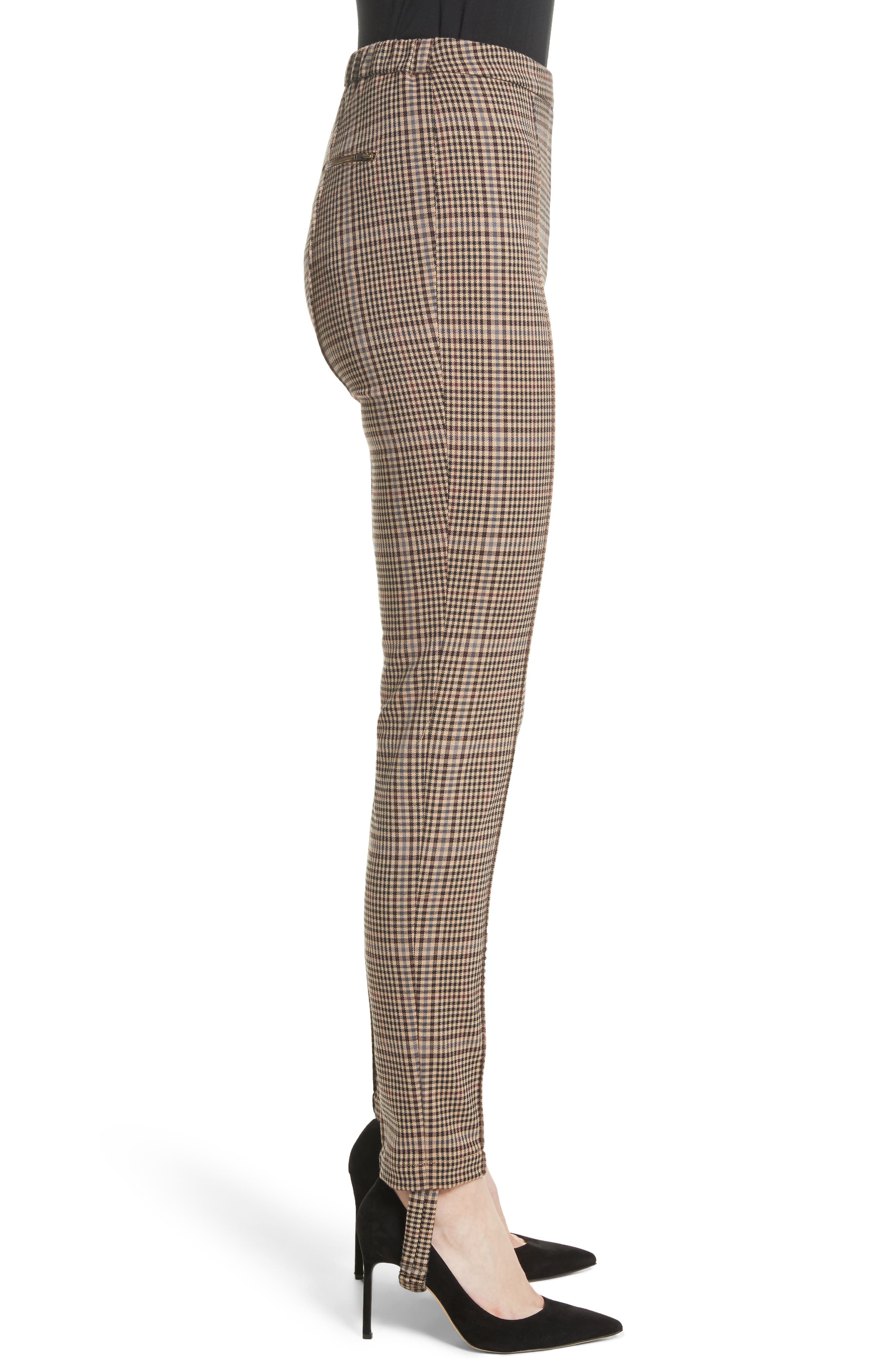Alternate Image 3  - Tracy Reese Plaid Stirrup Pants