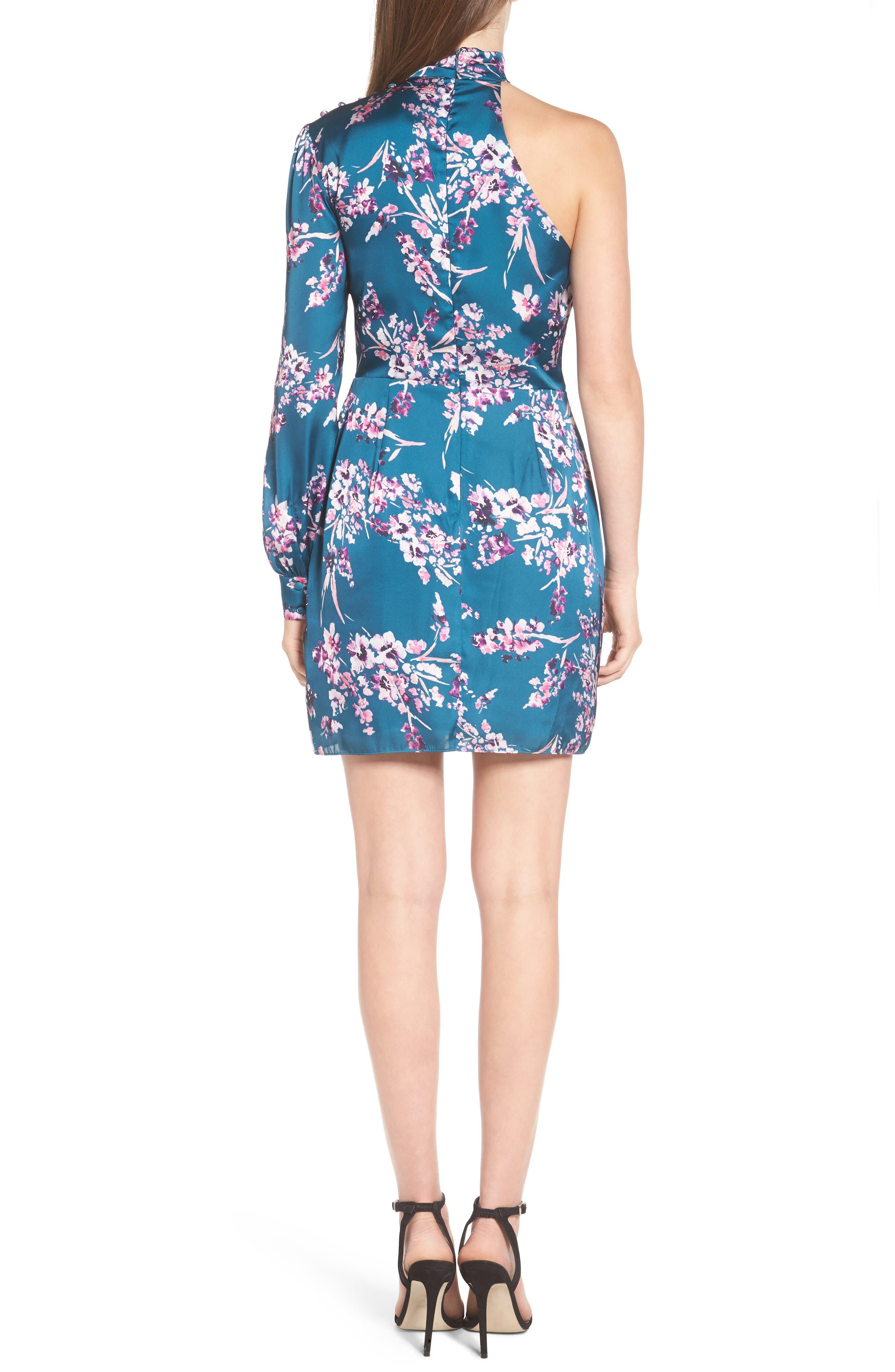 Alternate Image 2  - devlin Clover Cold Shoulder Sheath Dress