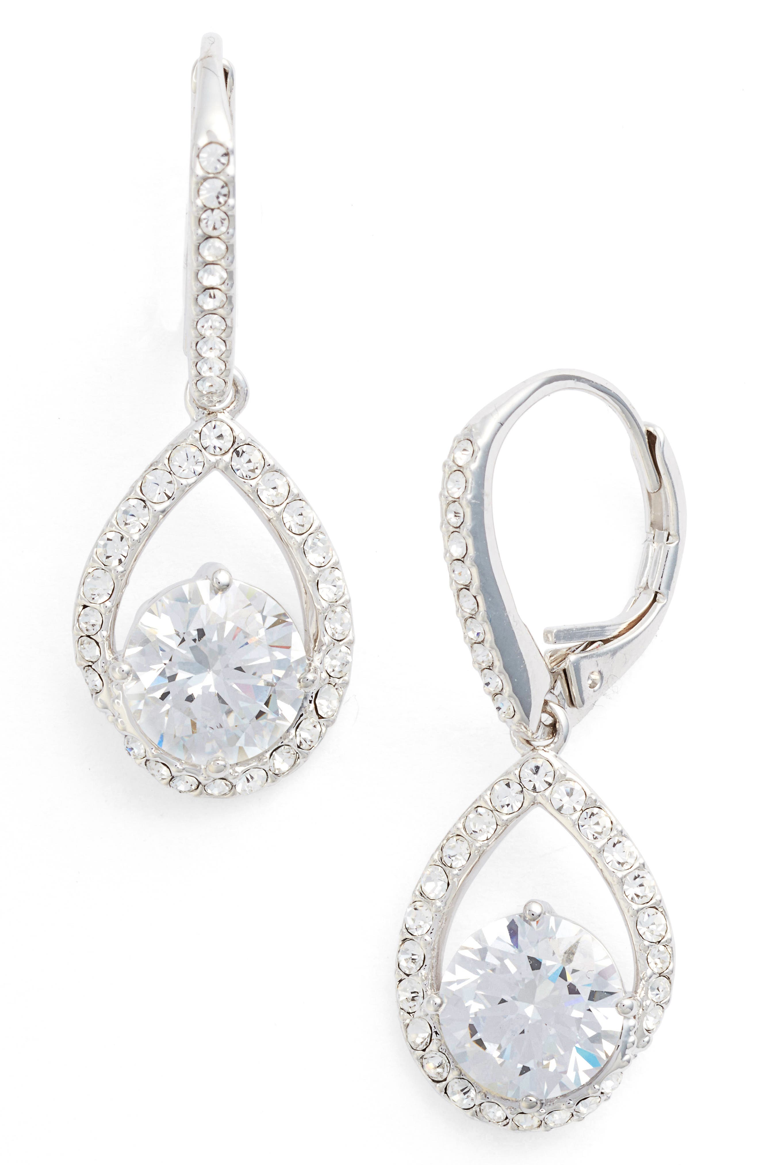 Nadri Cubic Zirconia Pear Drop Earrings