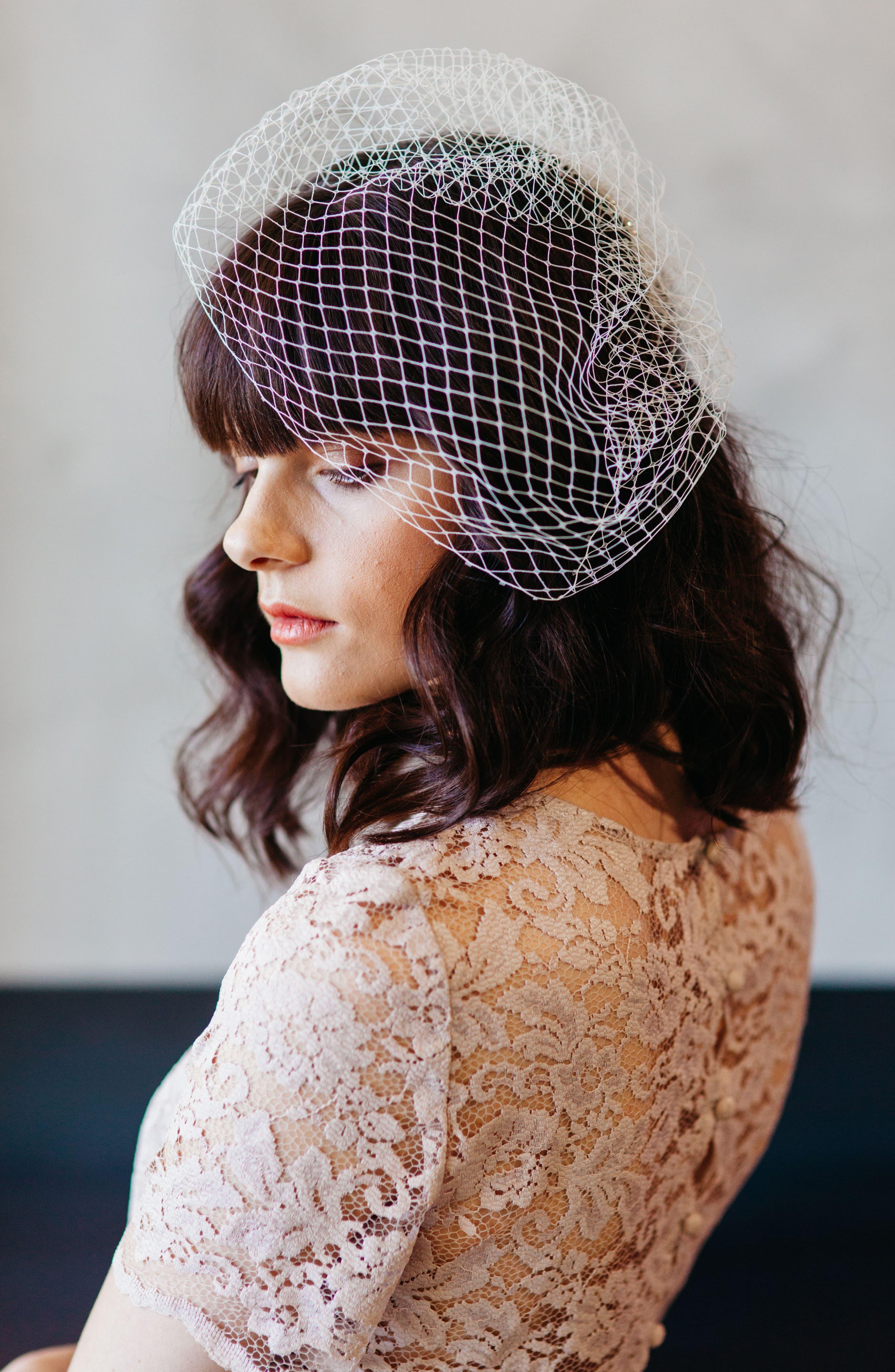 J-Picone Bridal Veil Hairpin