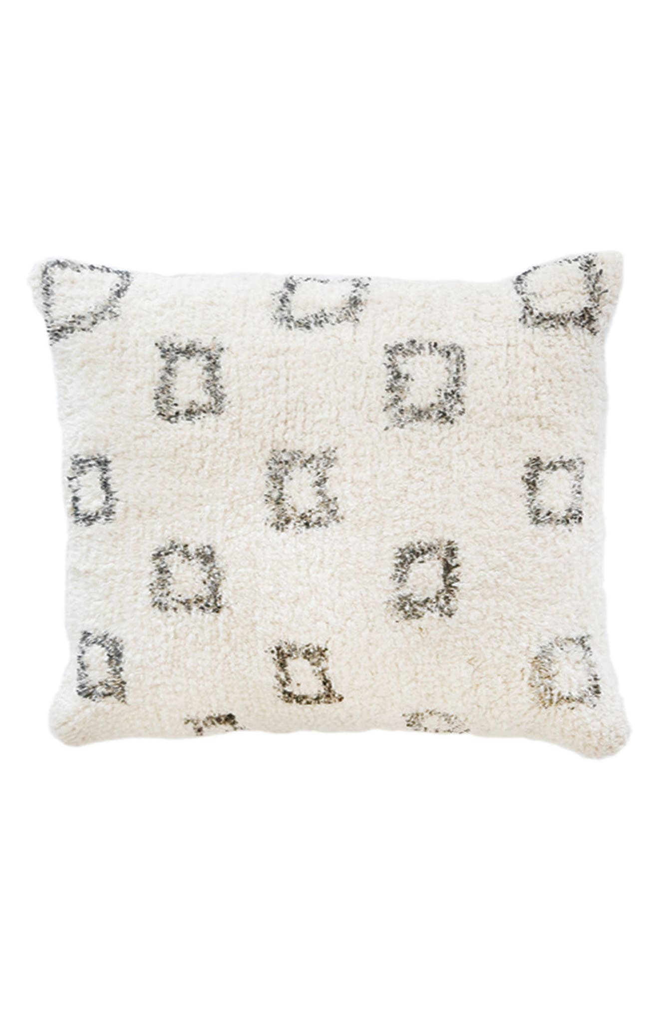 Bowie Big Accent Pillow,                             Main thumbnail 1, color,                             Ivory