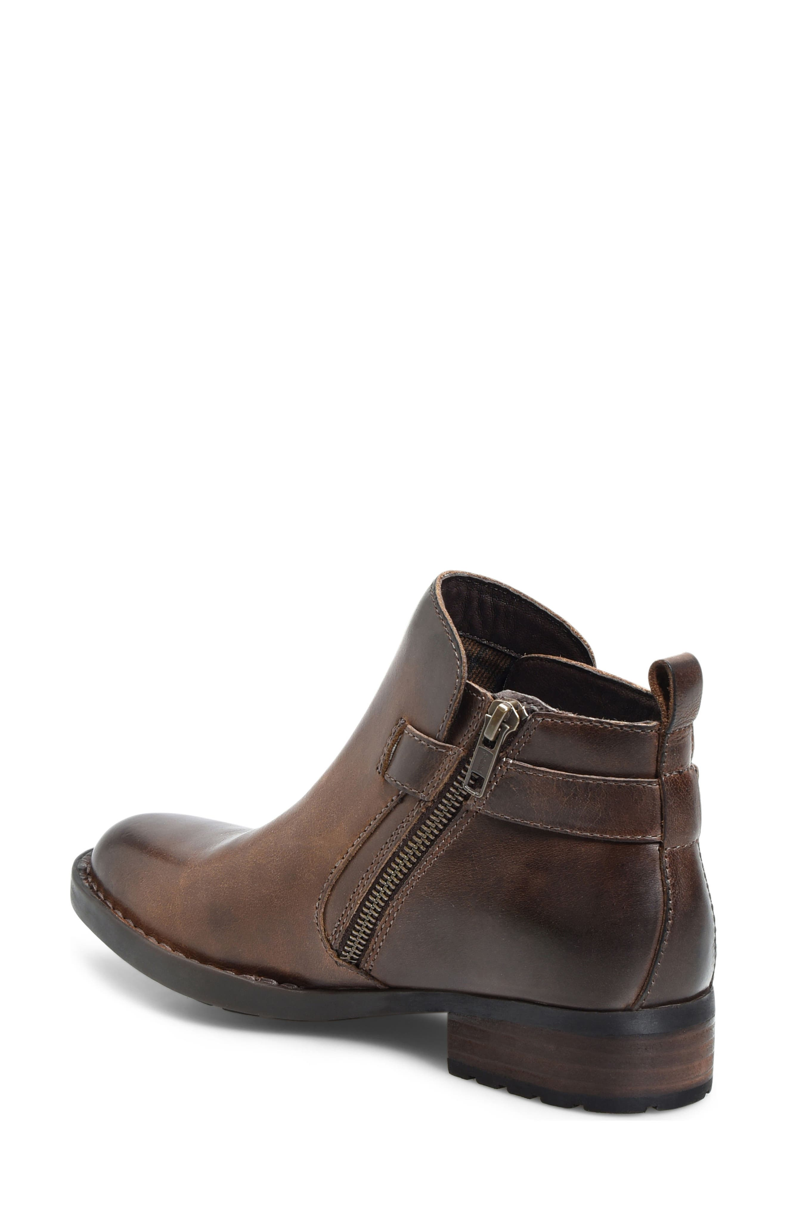 Timms Bootie,                             Alternate thumbnail 2, color,                             Brown Leather