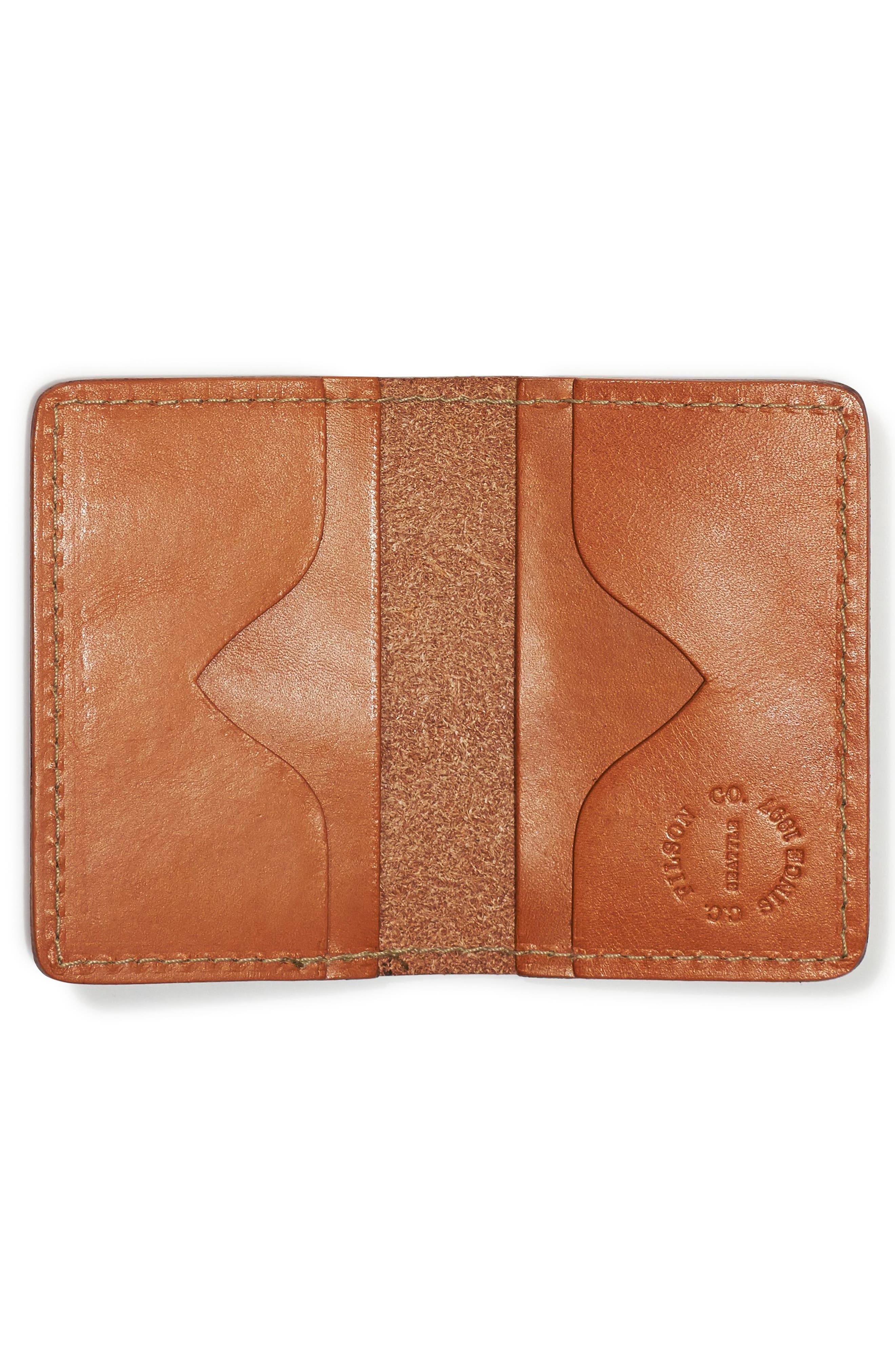 Alternate Image 2  - Filson Leather Bifold Card Case