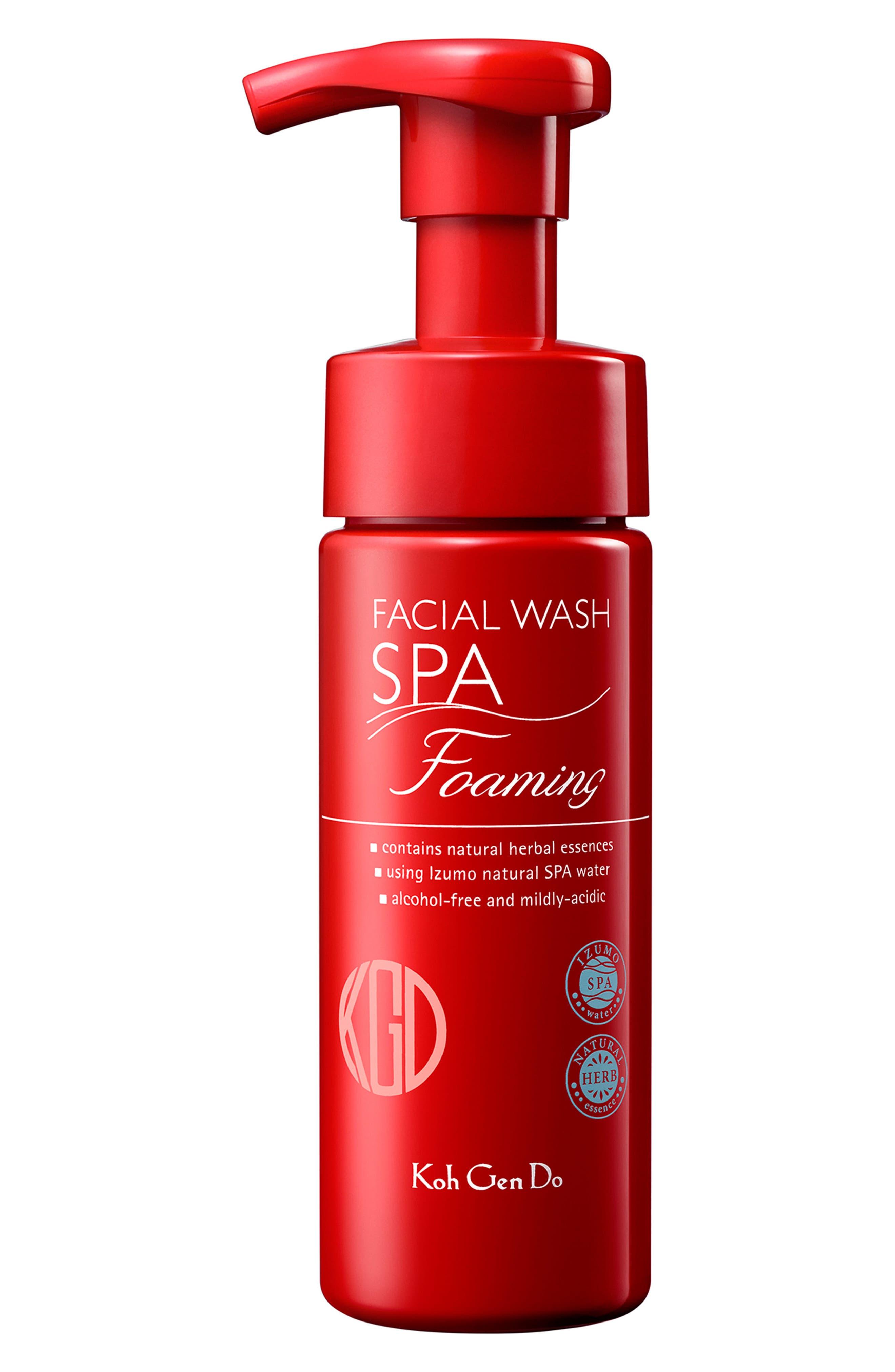 Foaming Facial Wash,                         Main,                         color, No Color