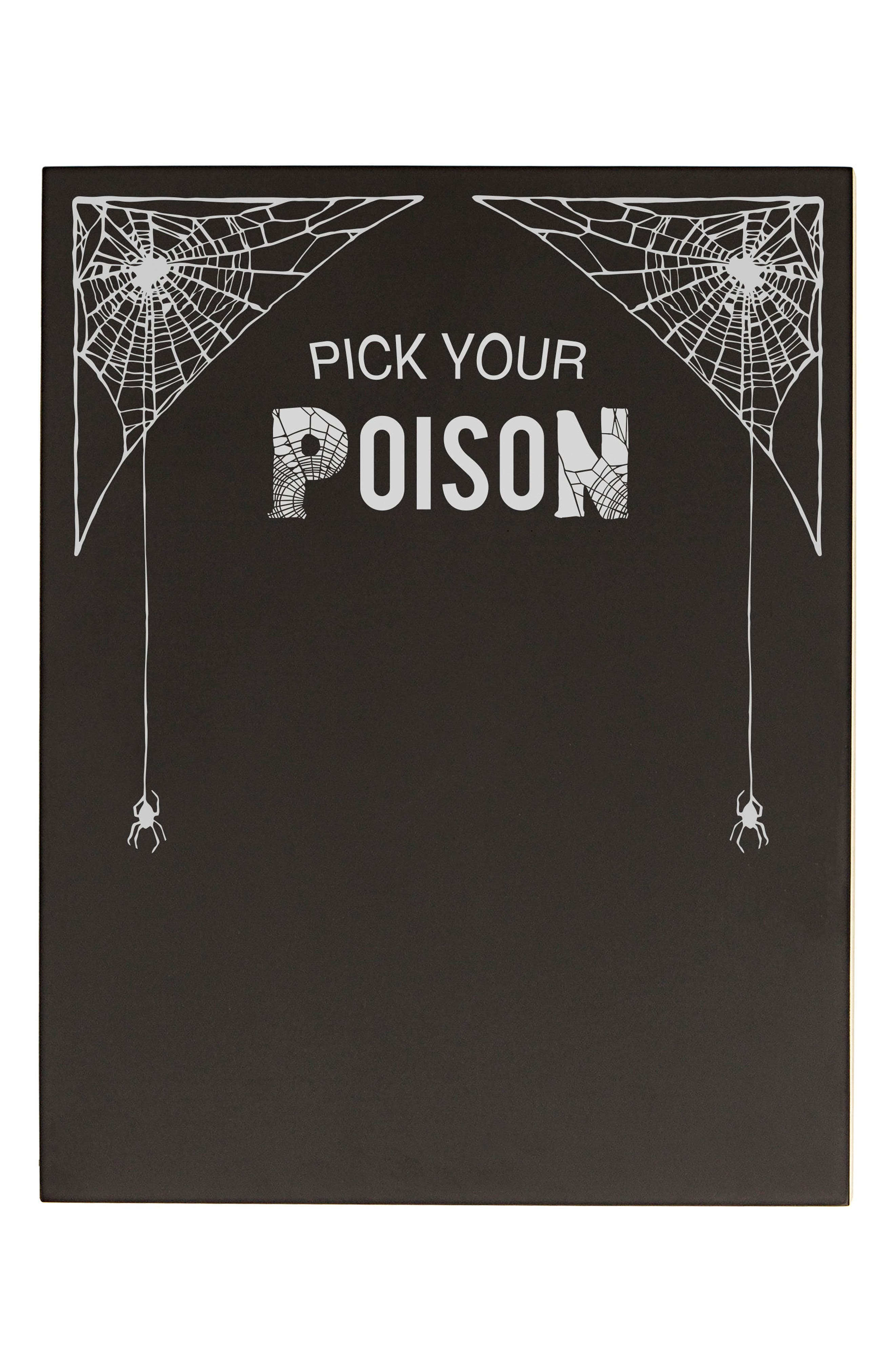Cathy's Concepts Pick Your Poison Chalkboard