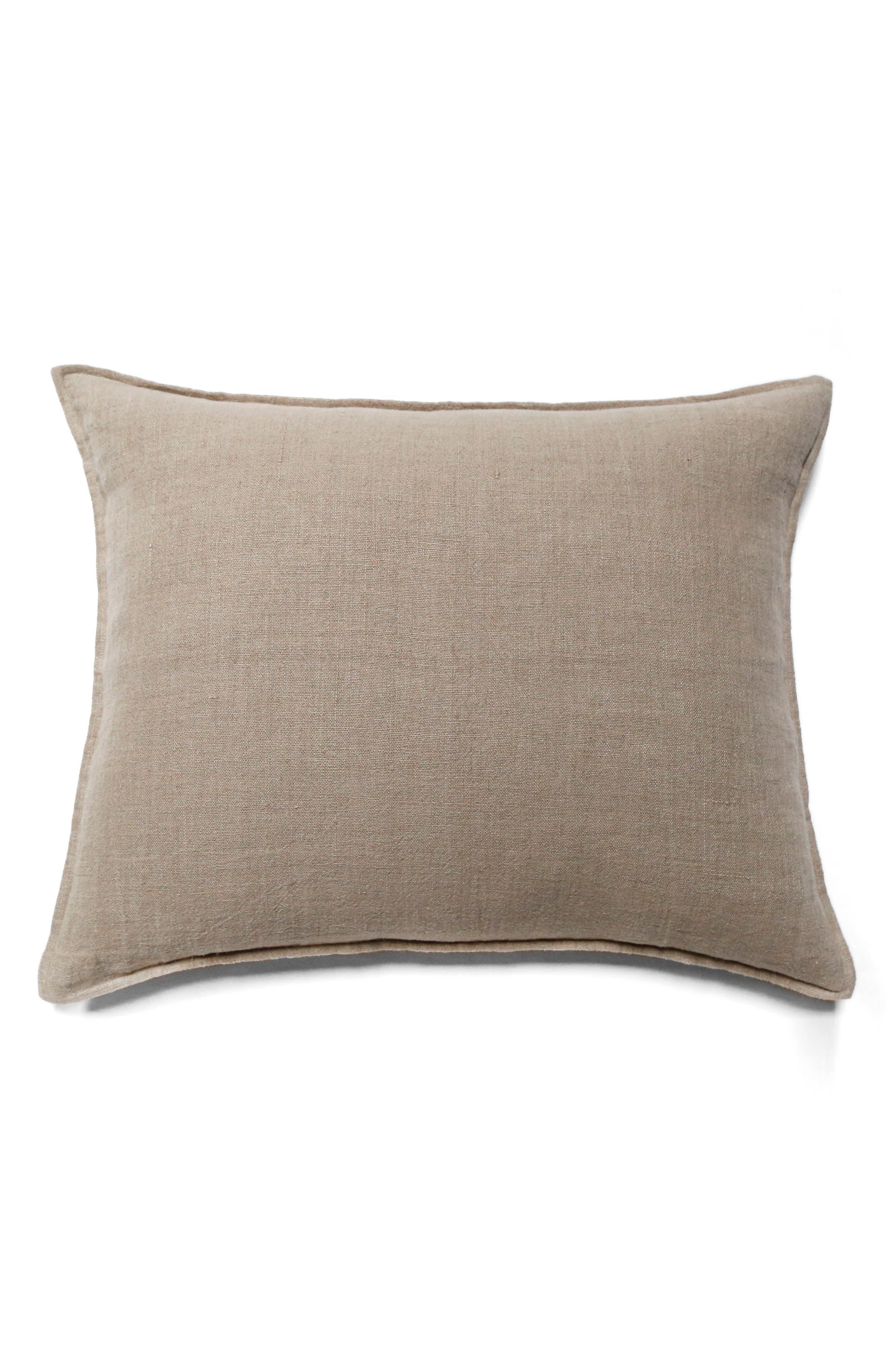Montauk Big Accent Pillow,                             Main thumbnail 1, color,                             Brown