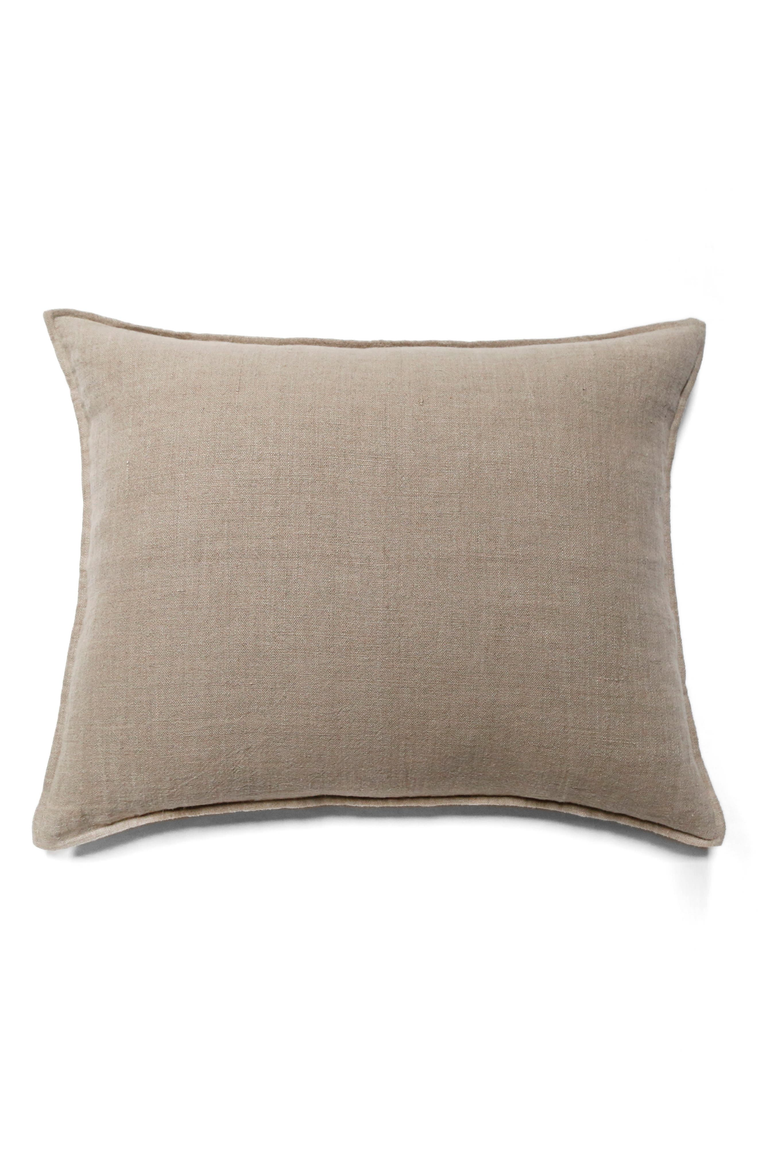 Montauk Big Accent Pillow,                         Main,                         color, Brown