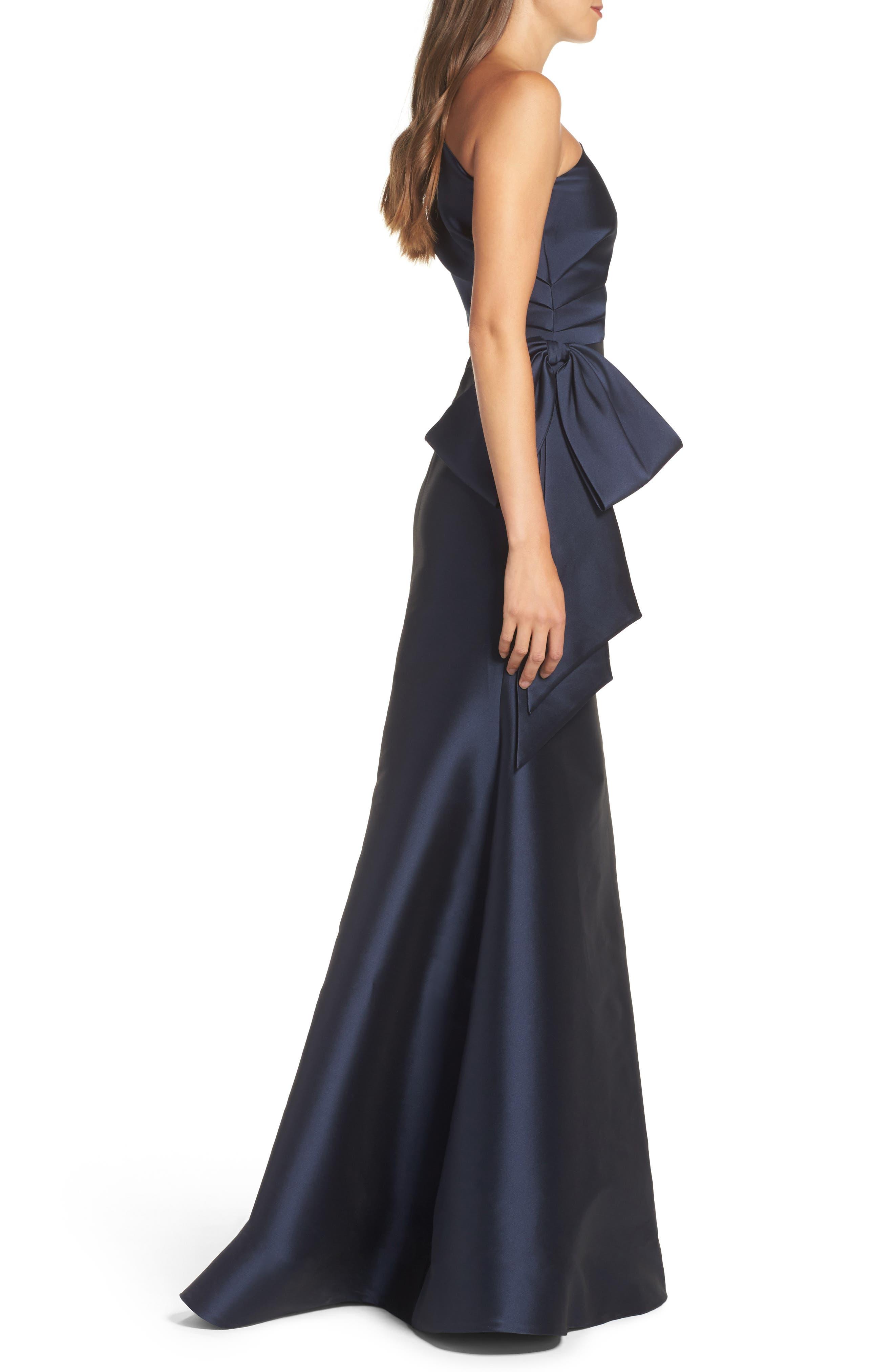 Alternate Image 3  - Sachin & Babi Noir Vanessa One-Shoulder Gown