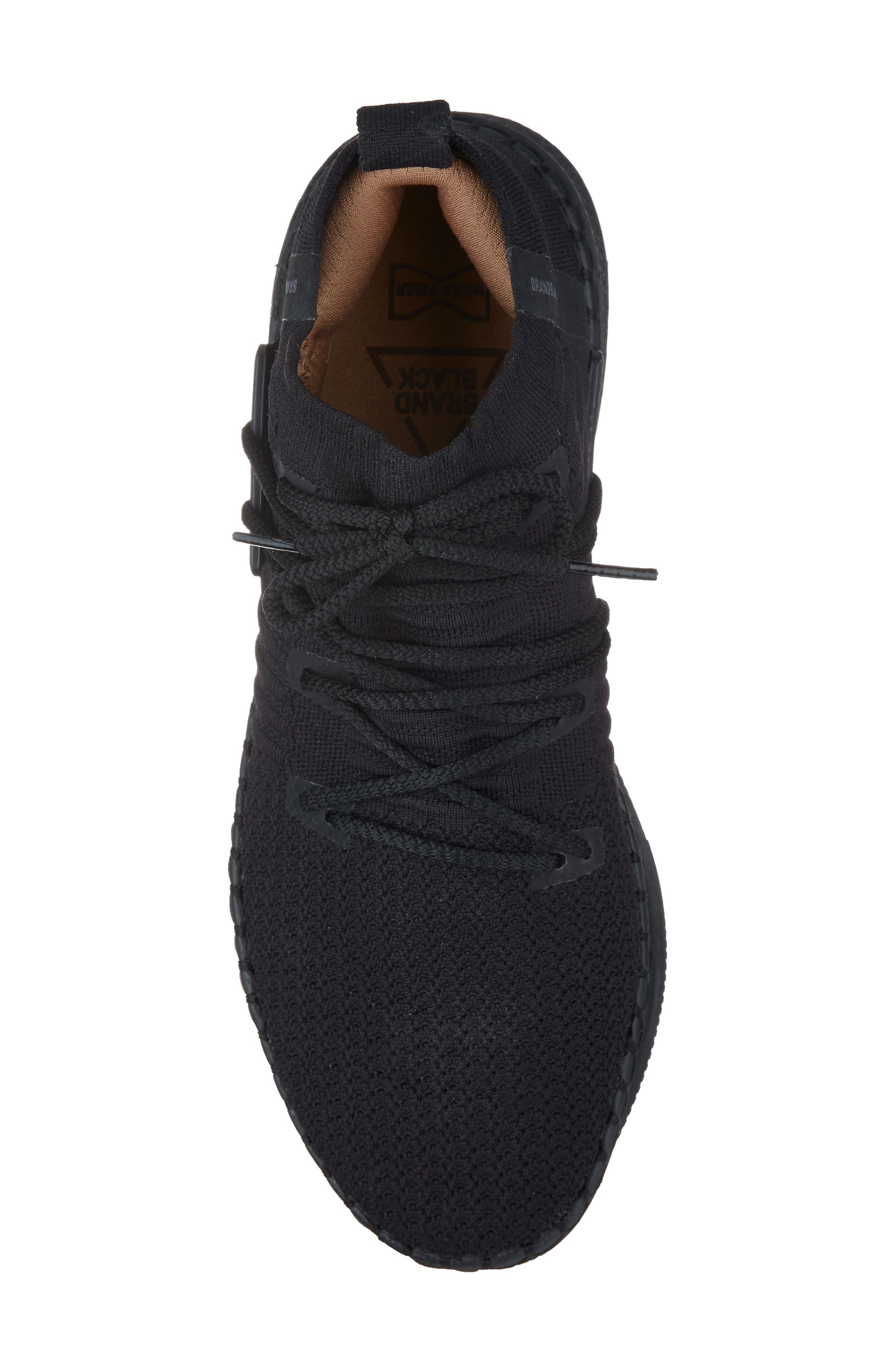 Delta Sneaker,                             Alternate thumbnail 5, color,                             Black