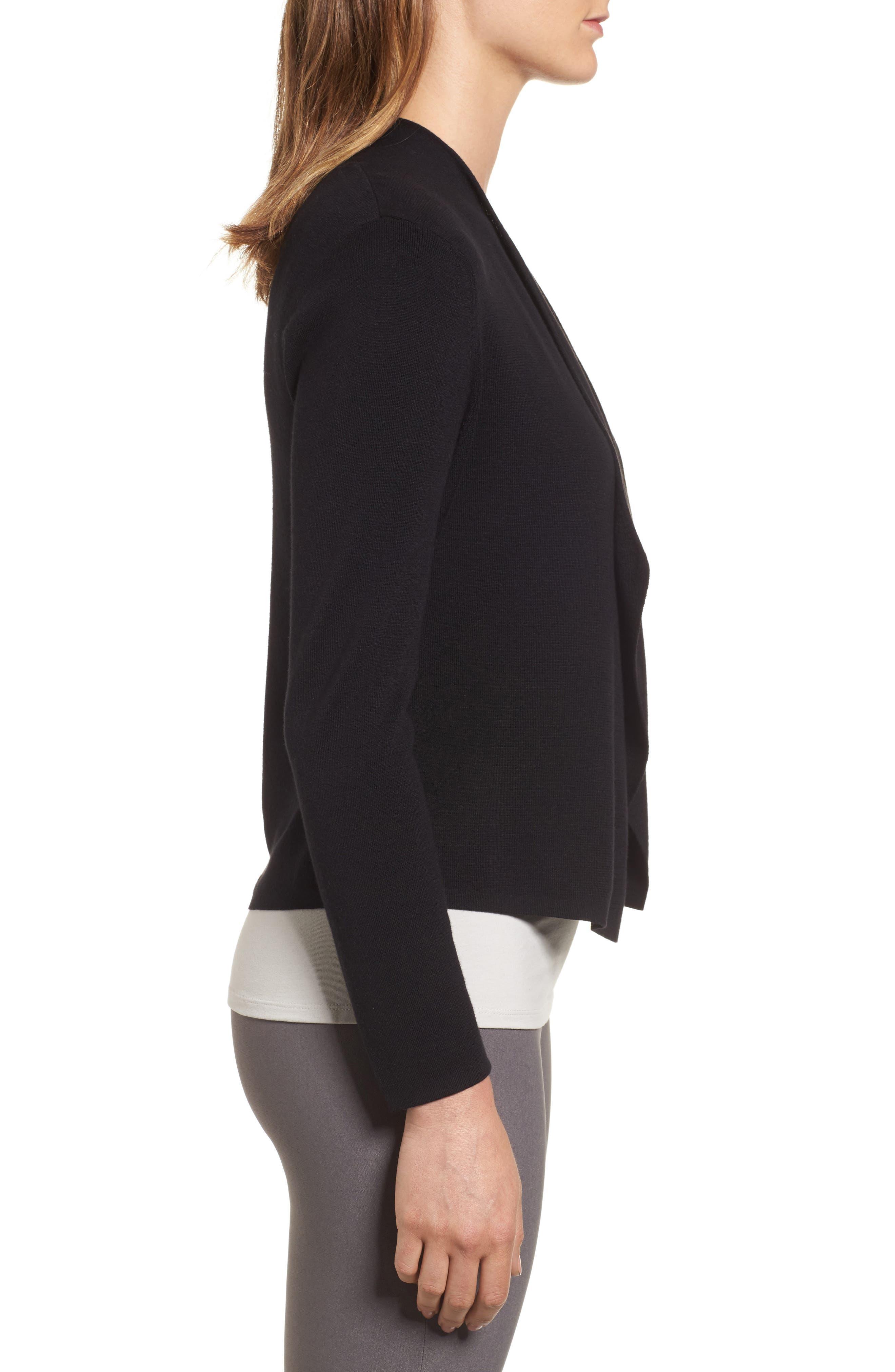 Alternate Image 3  - NIC+ZOE Drape Front Cardigan