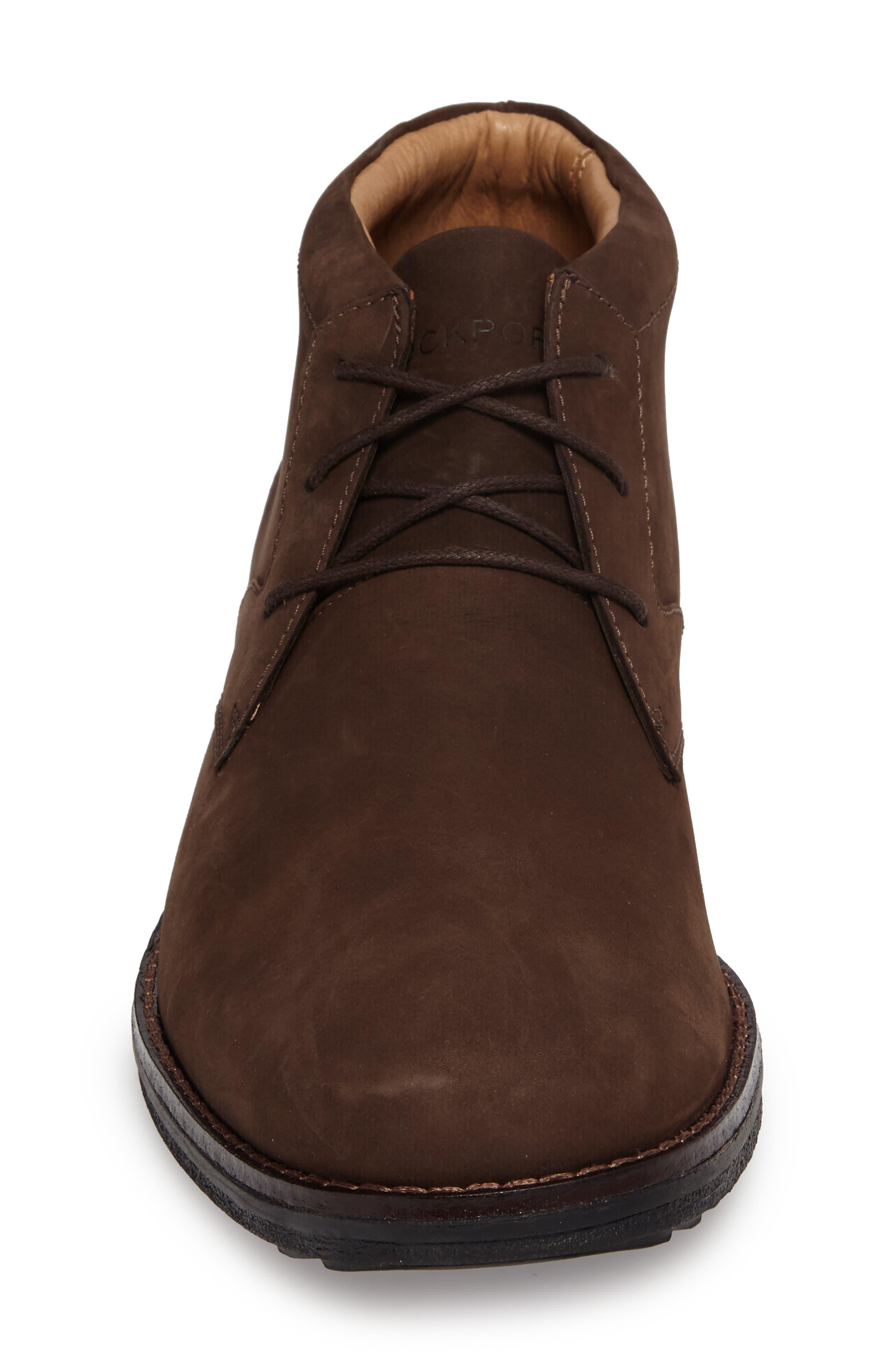 Premium Class Chukka Boot,                             Alternate thumbnail 4, color,                             Brown Nubuck