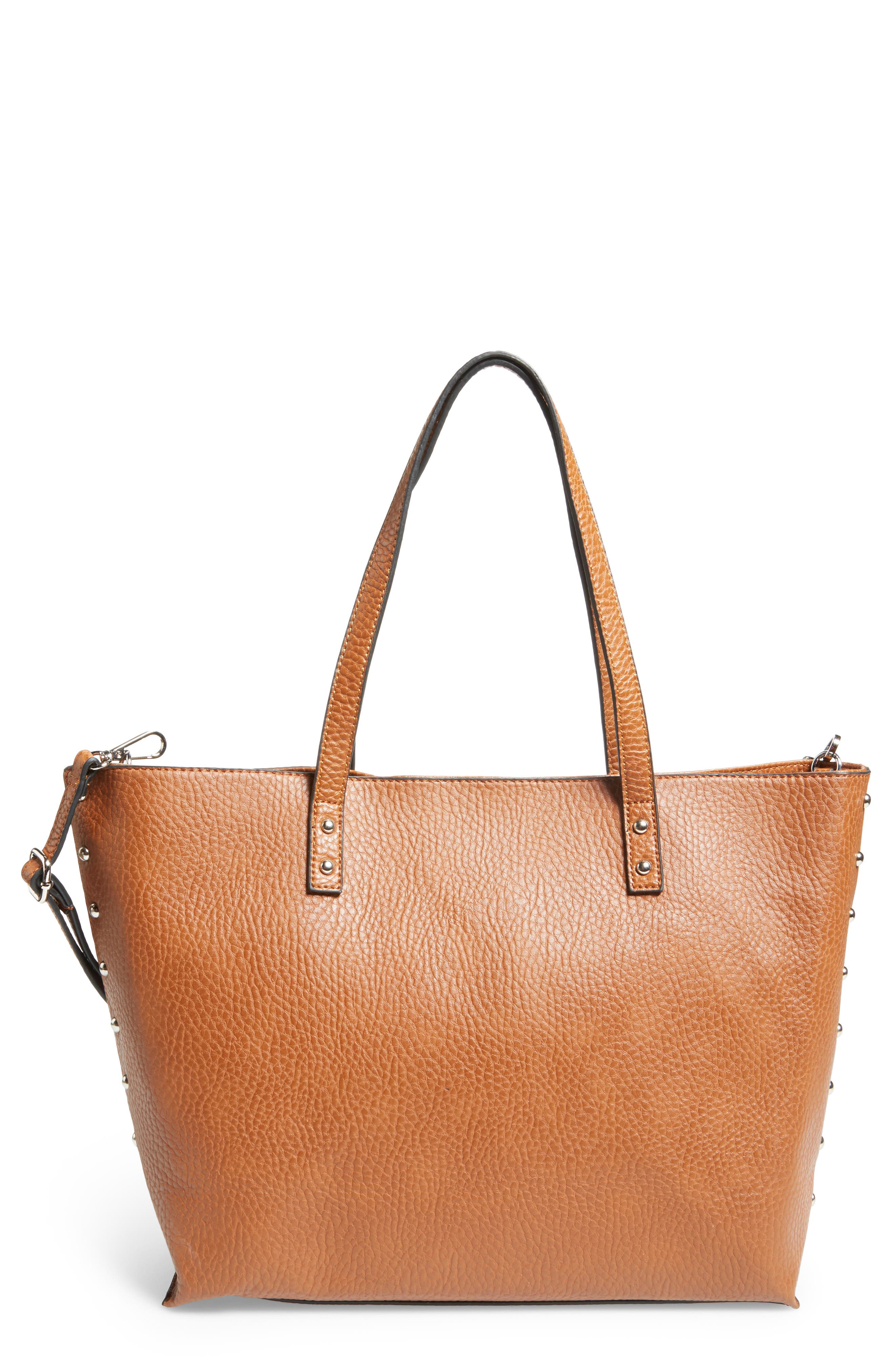 Linea Pelle Faux Leather Tote