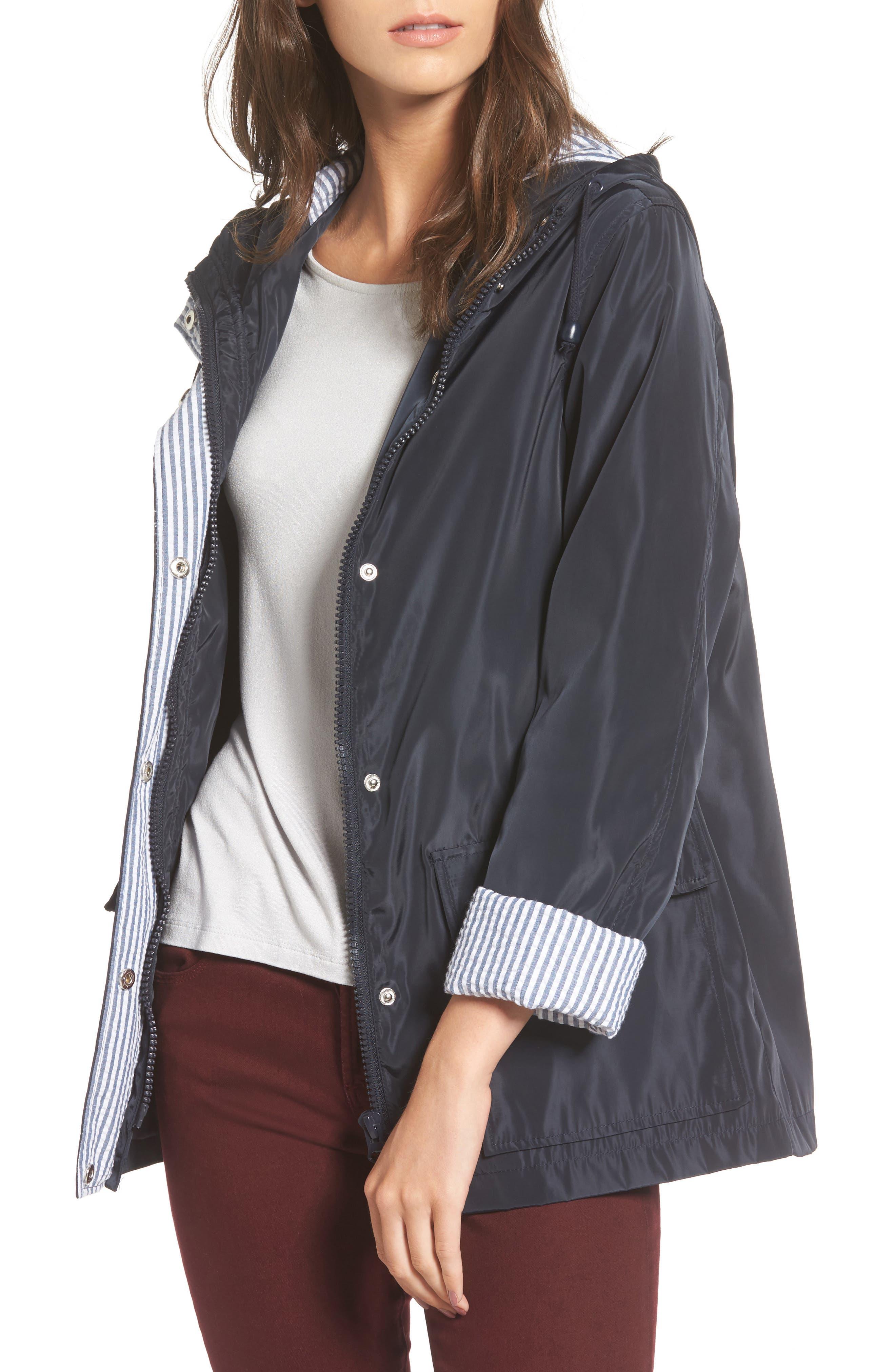 Thread & Supply Beecher Hooded Raincoat