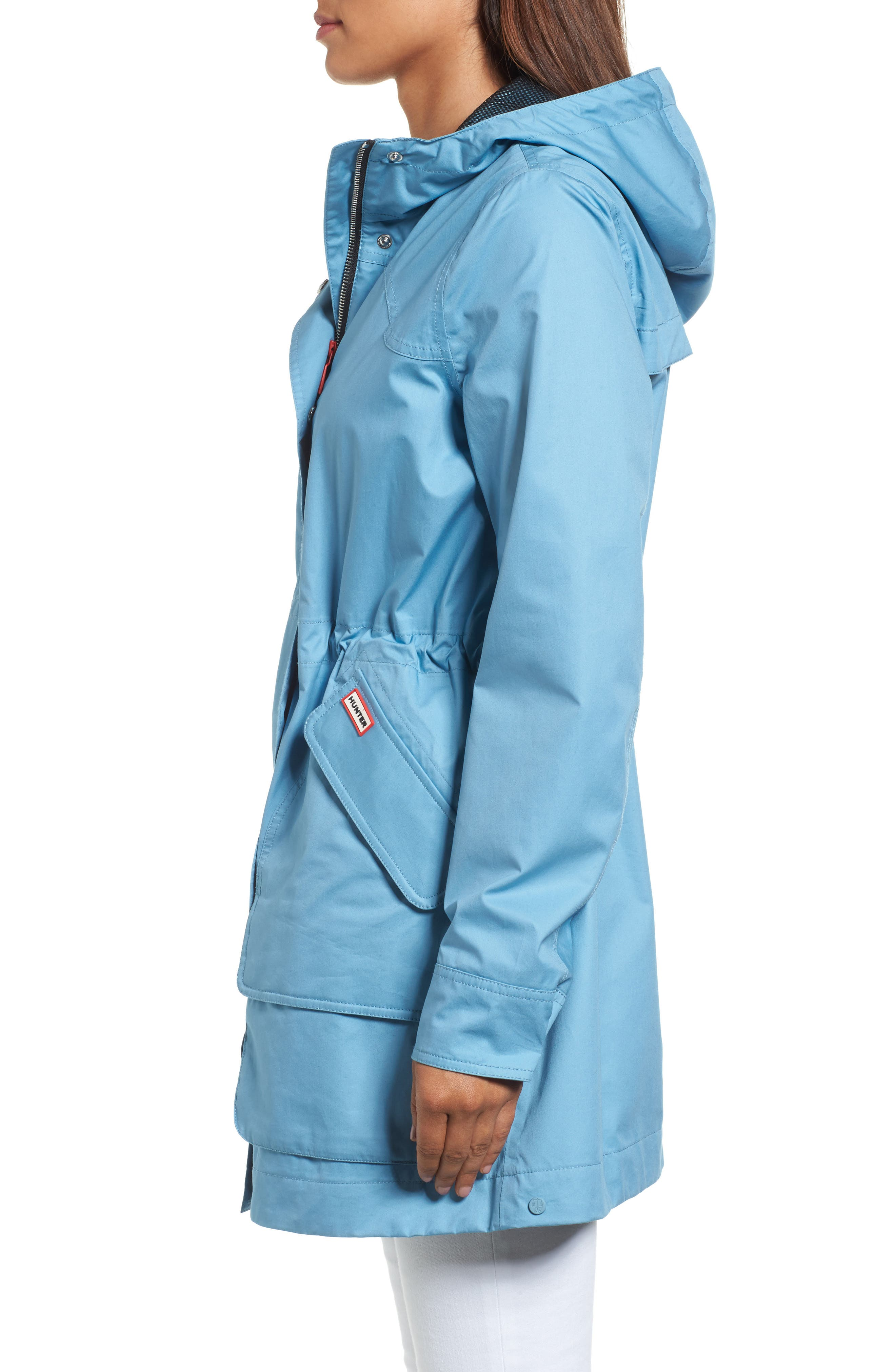Original Cotton Hunting Coat,                             Alternate thumbnail 3, color,                             Pale Blue
