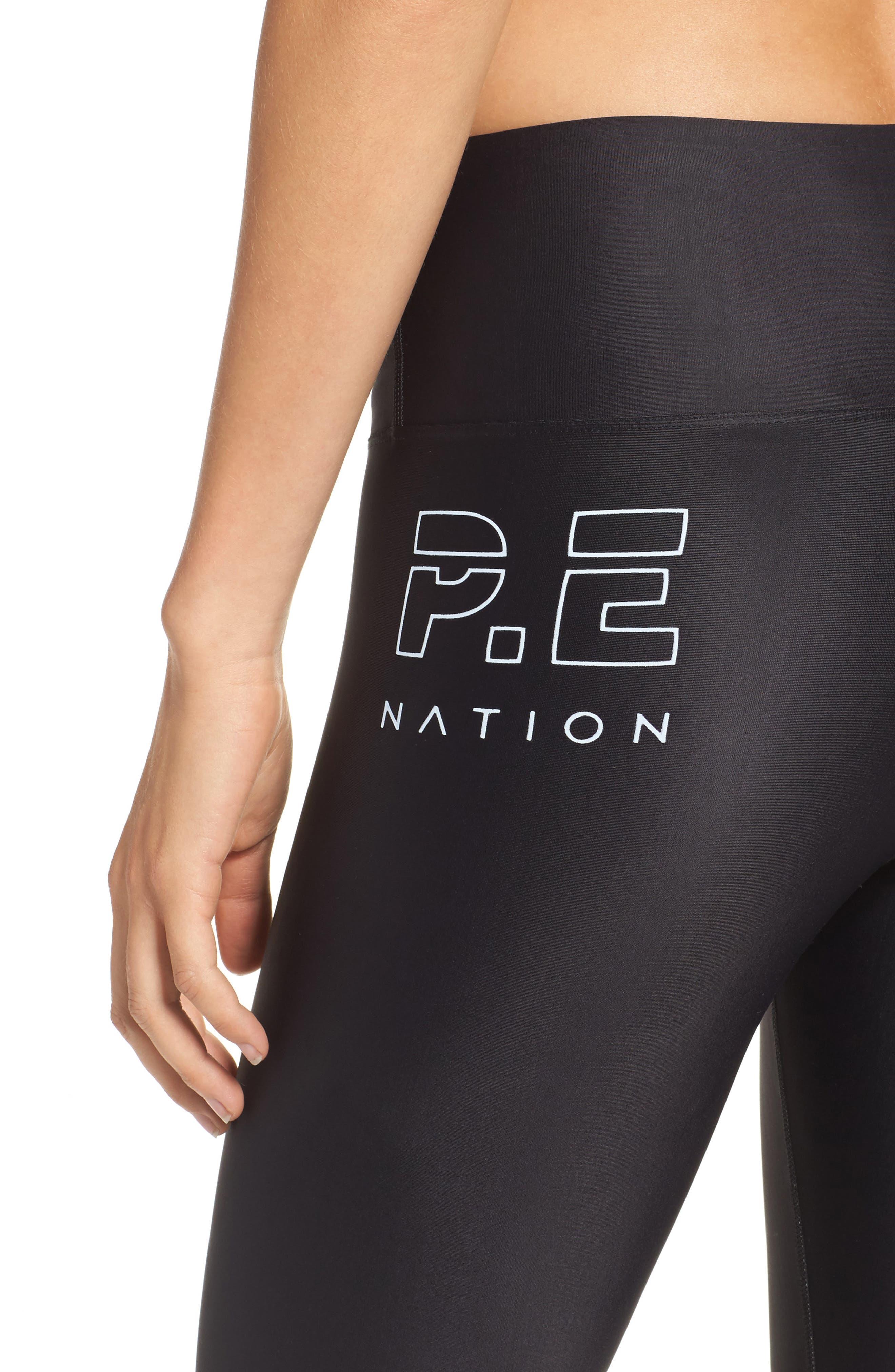 Alternate Image 4  - P.E Nation Set Position Leggings