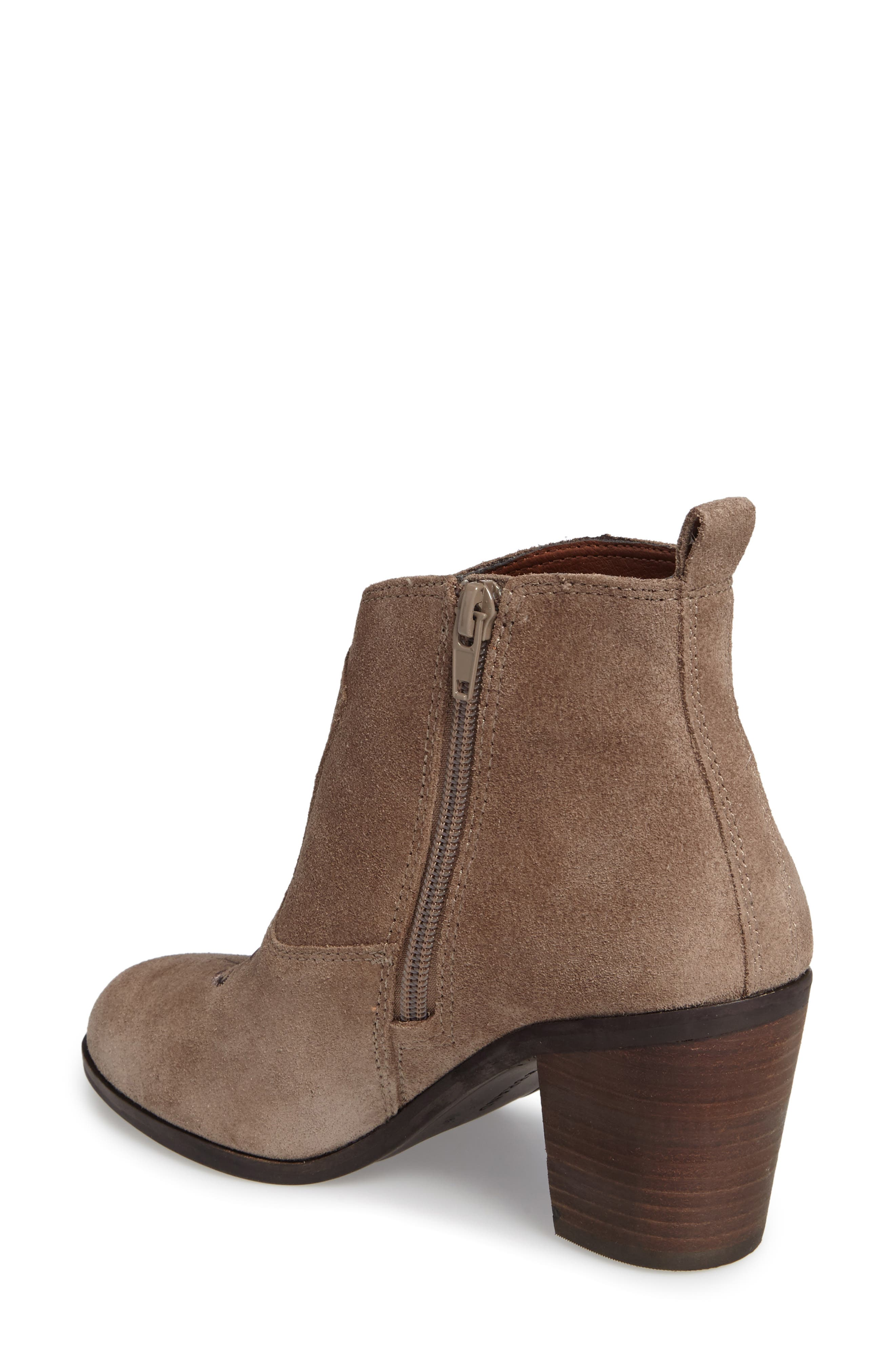 Alternate Image 2  - Lucky Brand Pexton Embroidered Bootie (Women)