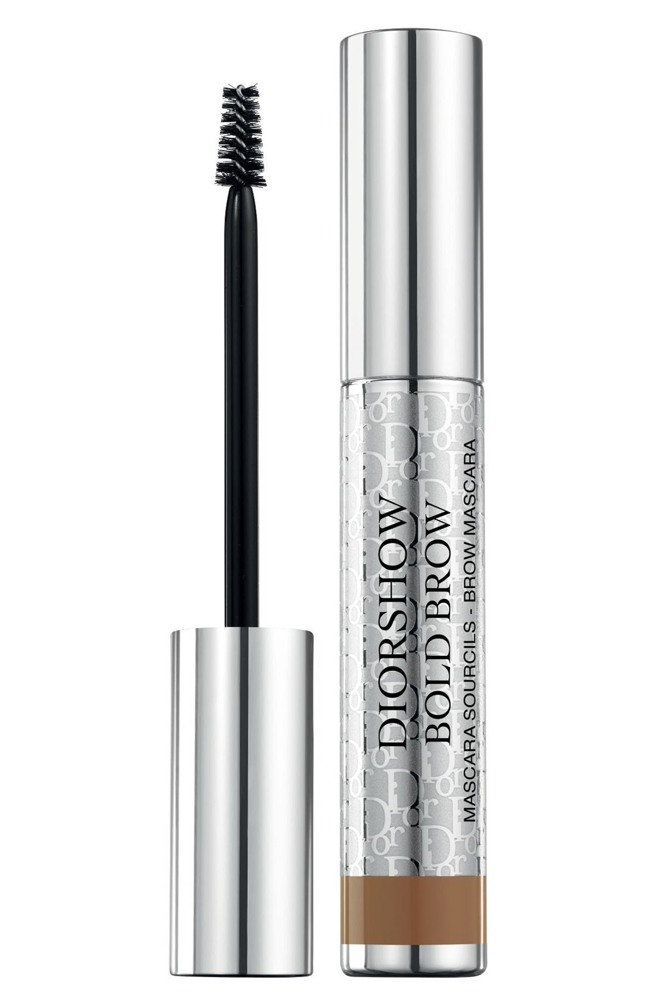 Diorshow Bold Brow Instant Volumizing Brow Mascara,                         Main,                         color, 021 Medium