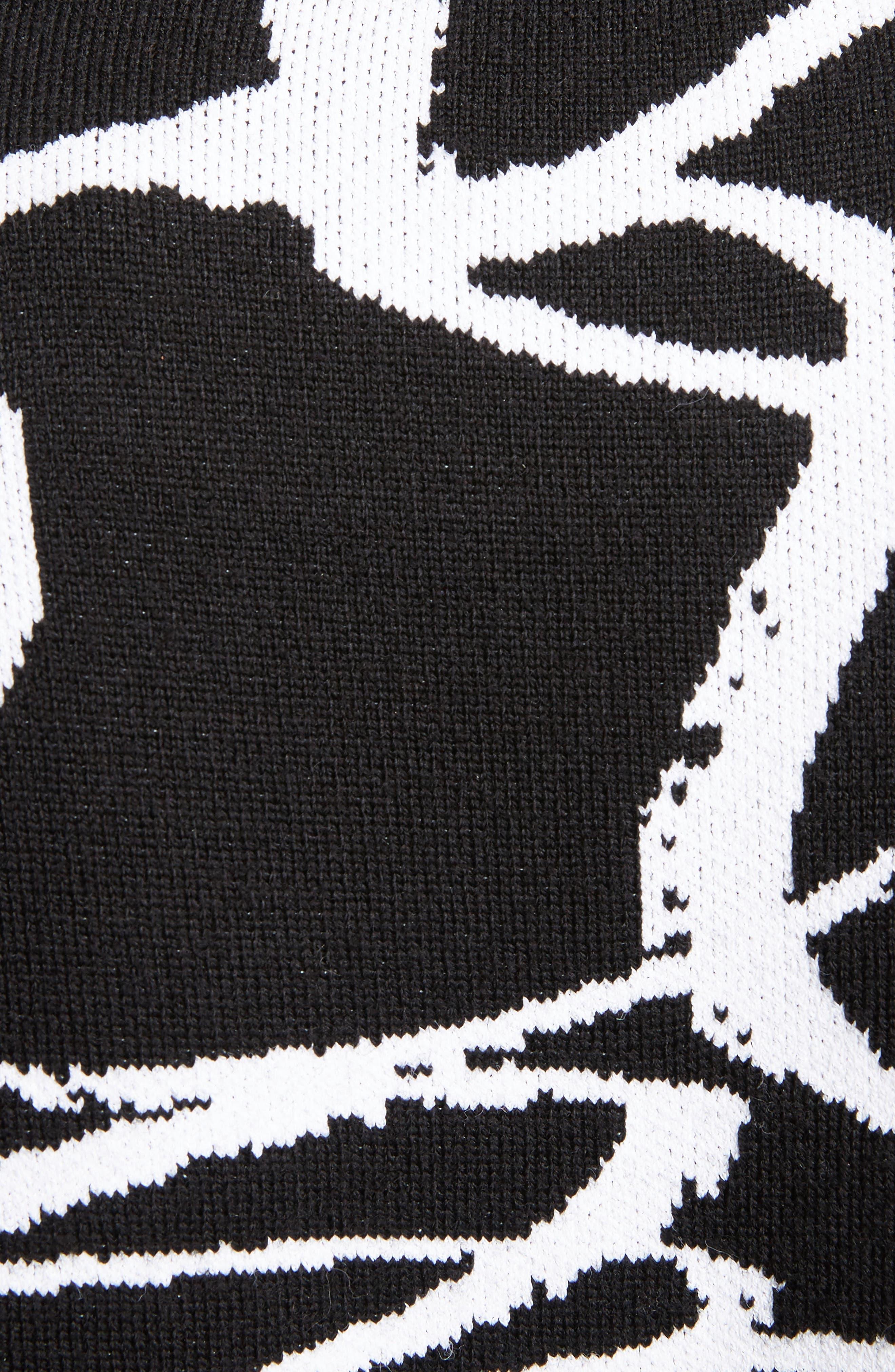 Alternate Image 5  - Proenza Schouler Brushstroke Jacquard Sweater