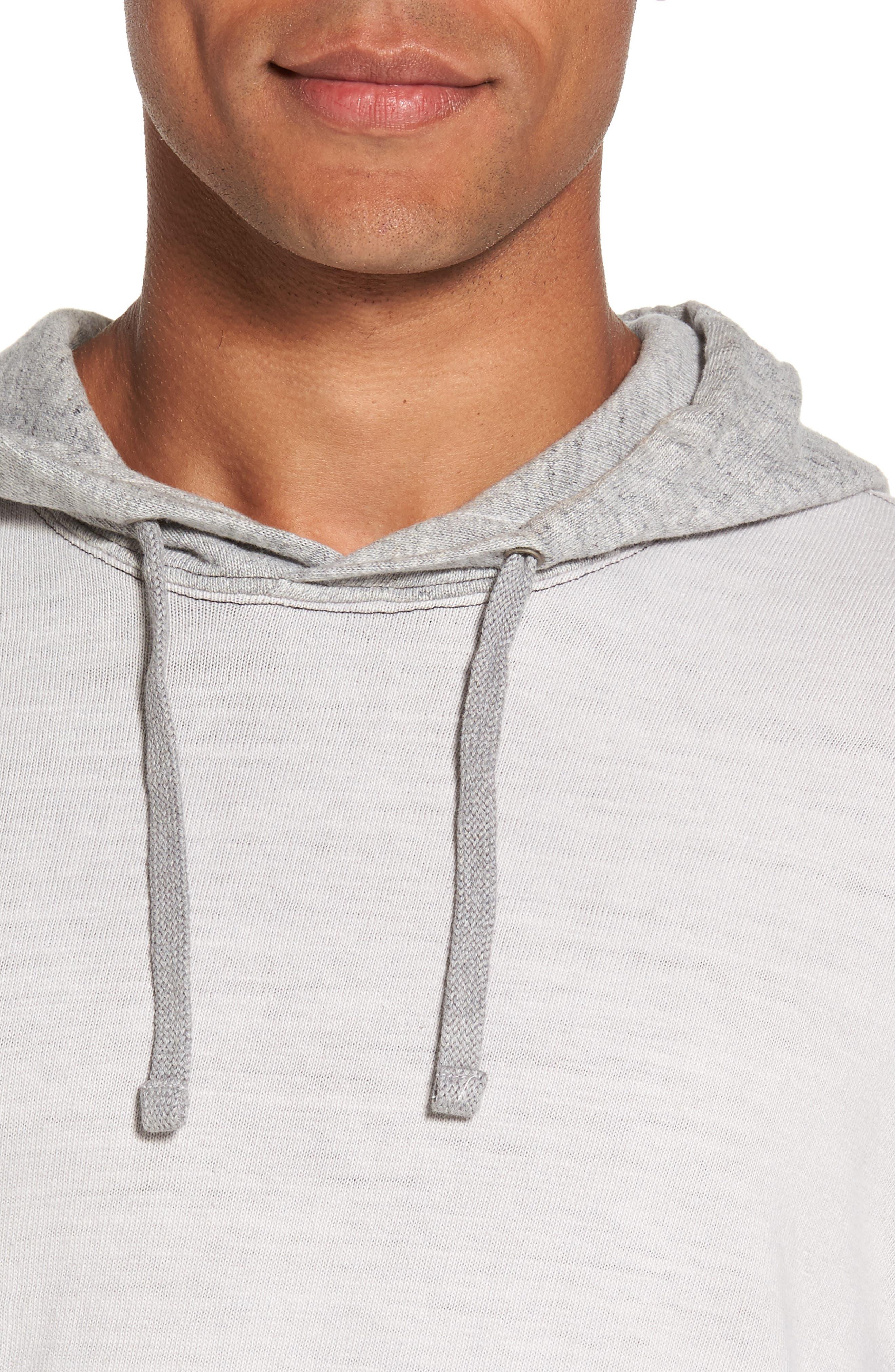 Alternate Image 4  - James Perse Standard Fit Pullover Hoodie