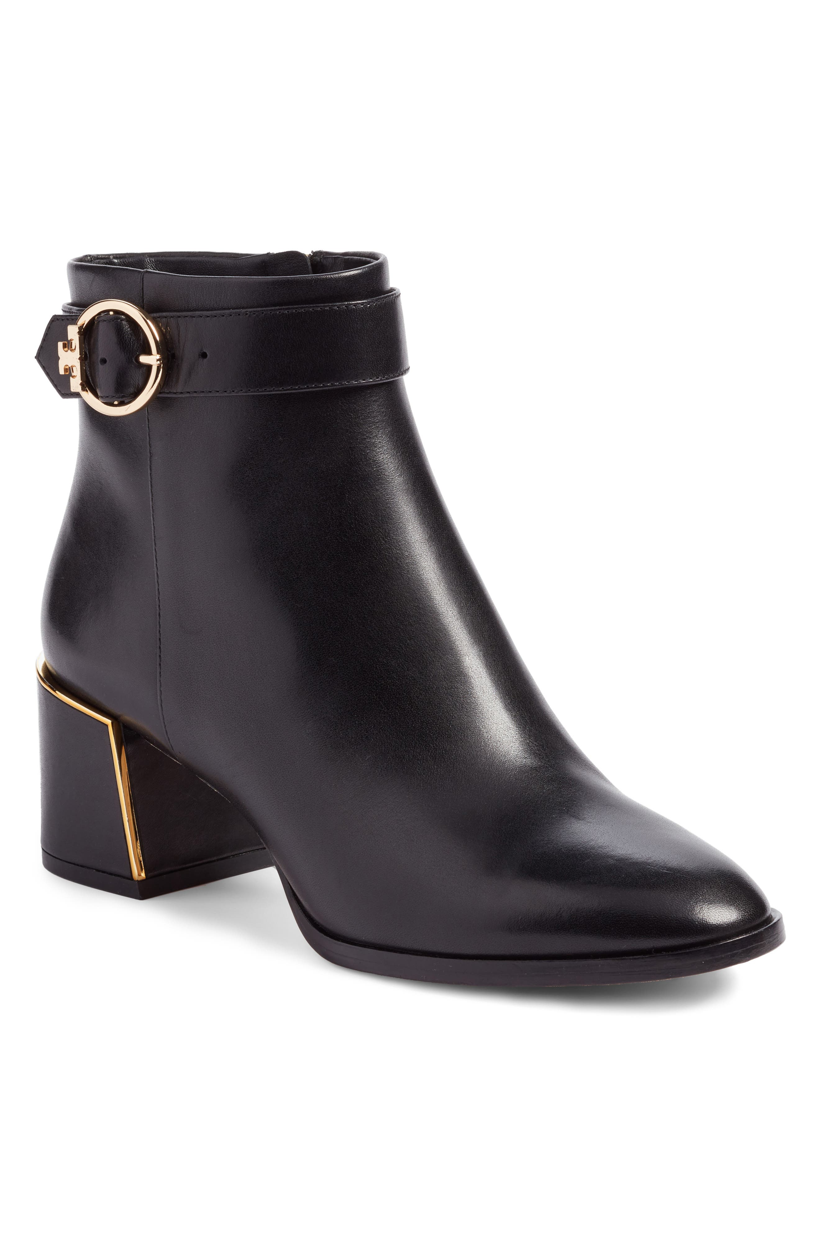 Tory Burch Sofia Buckle Strap Bootie (Women)