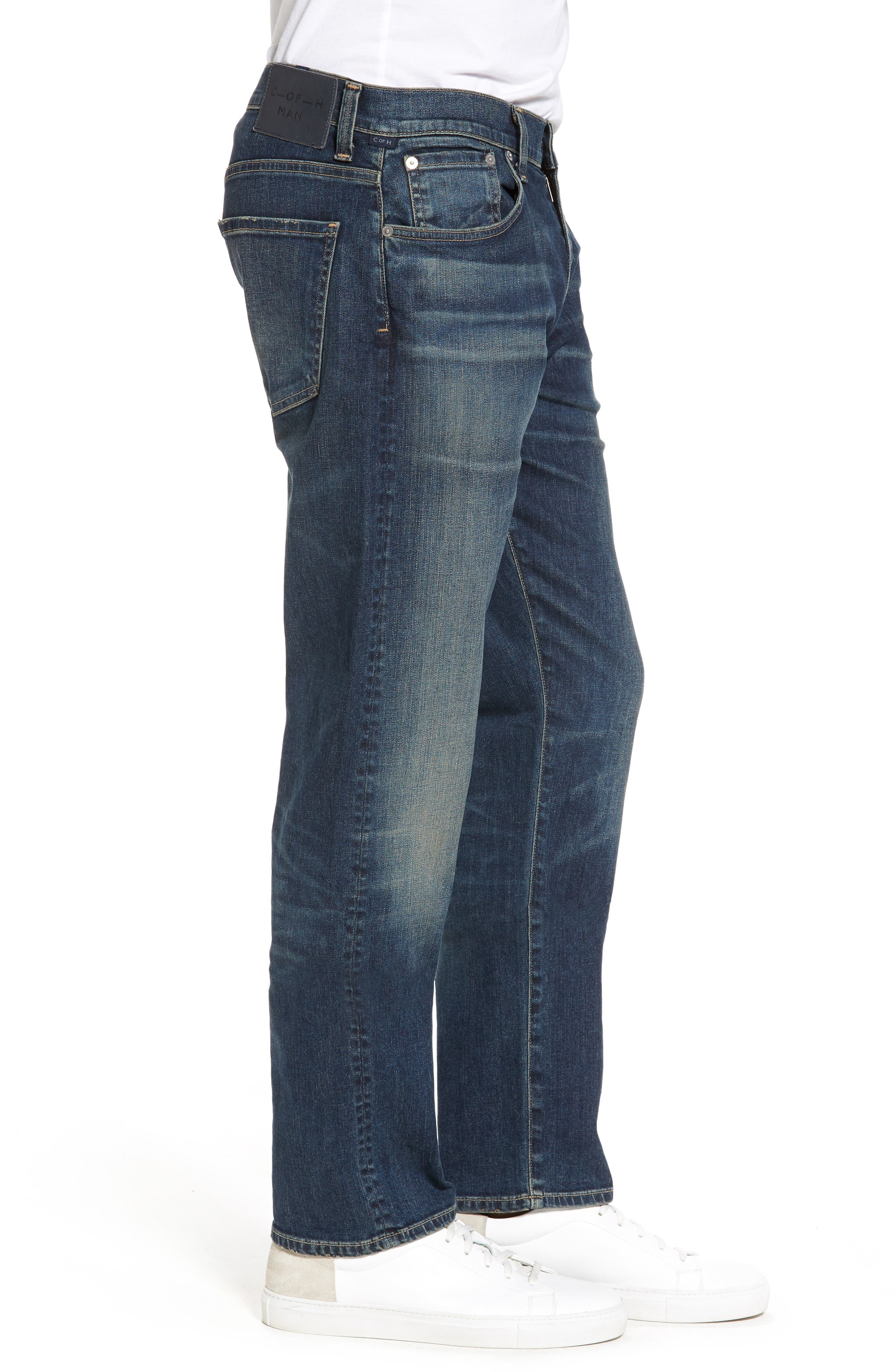 Core Slim Fit Jeans,                             Alternate thumbnail 3, color,                             Argo