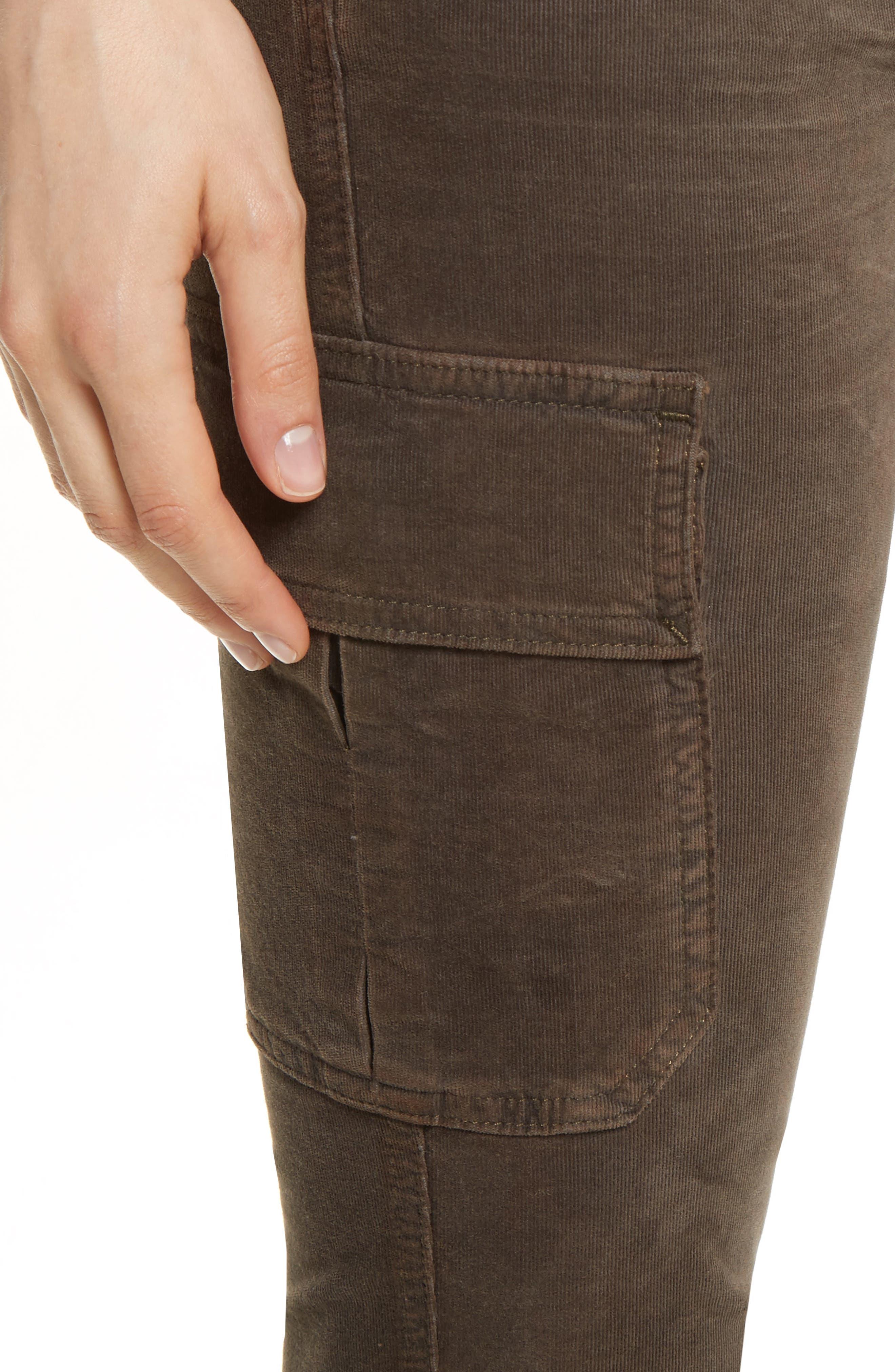 Alternate Image 5  - Vince Skinny Corduroy Cargo Pants