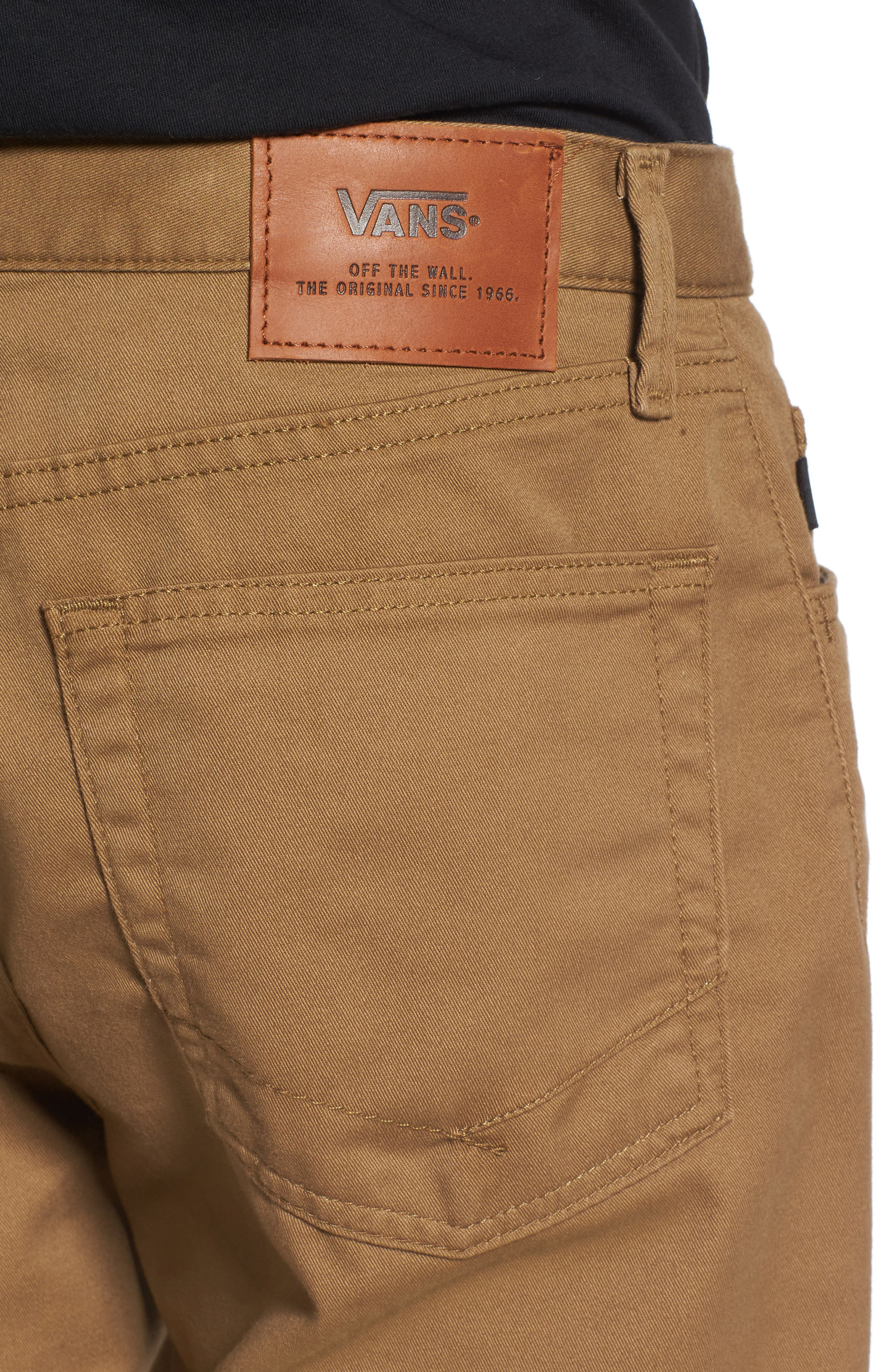 Alternate Image 4  - Vans Covina II - Anthony Van Engelen Twill Shorts