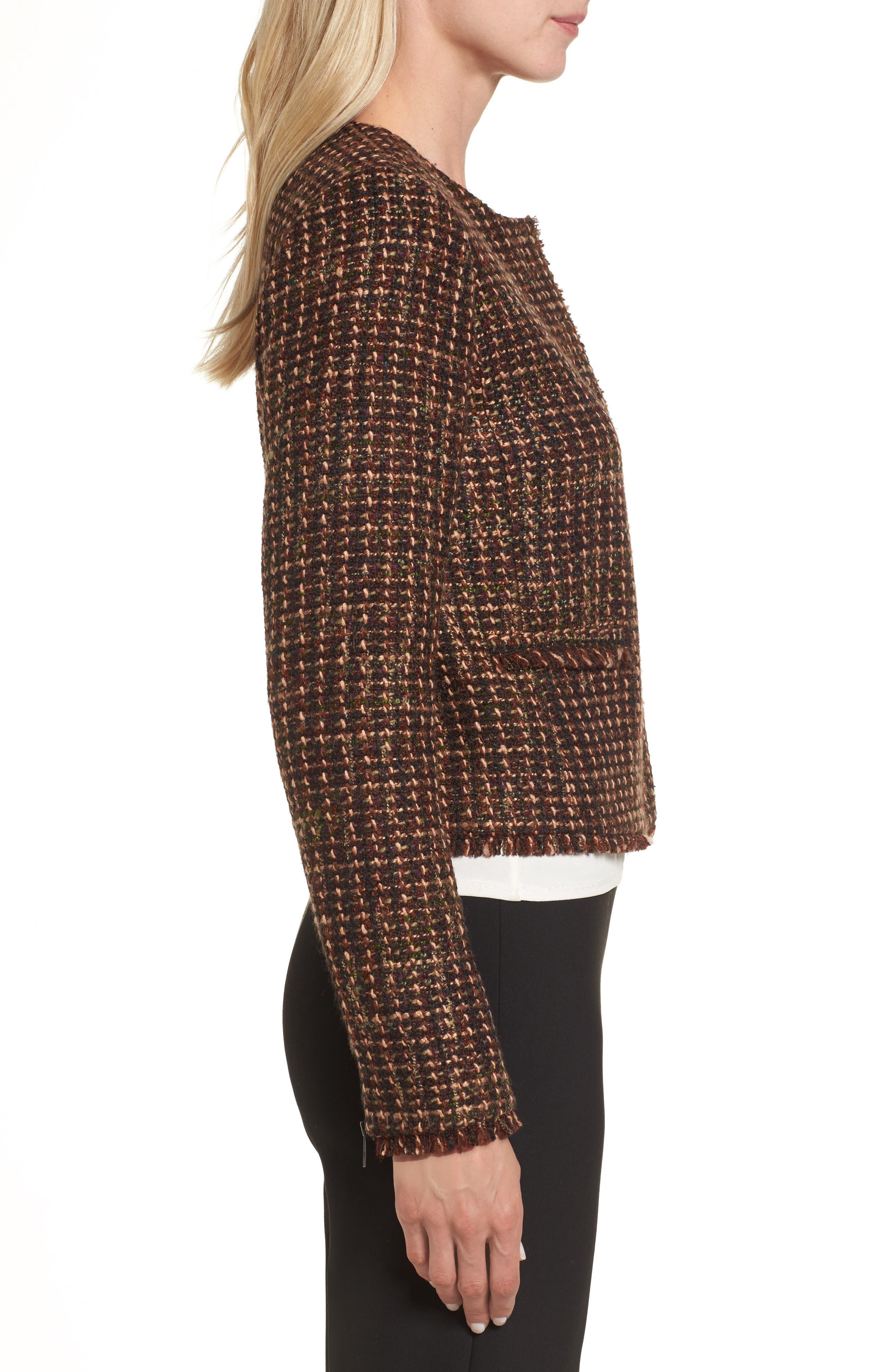 Alternate Image 3  - Emerson Rose Crop Tweed Jacket