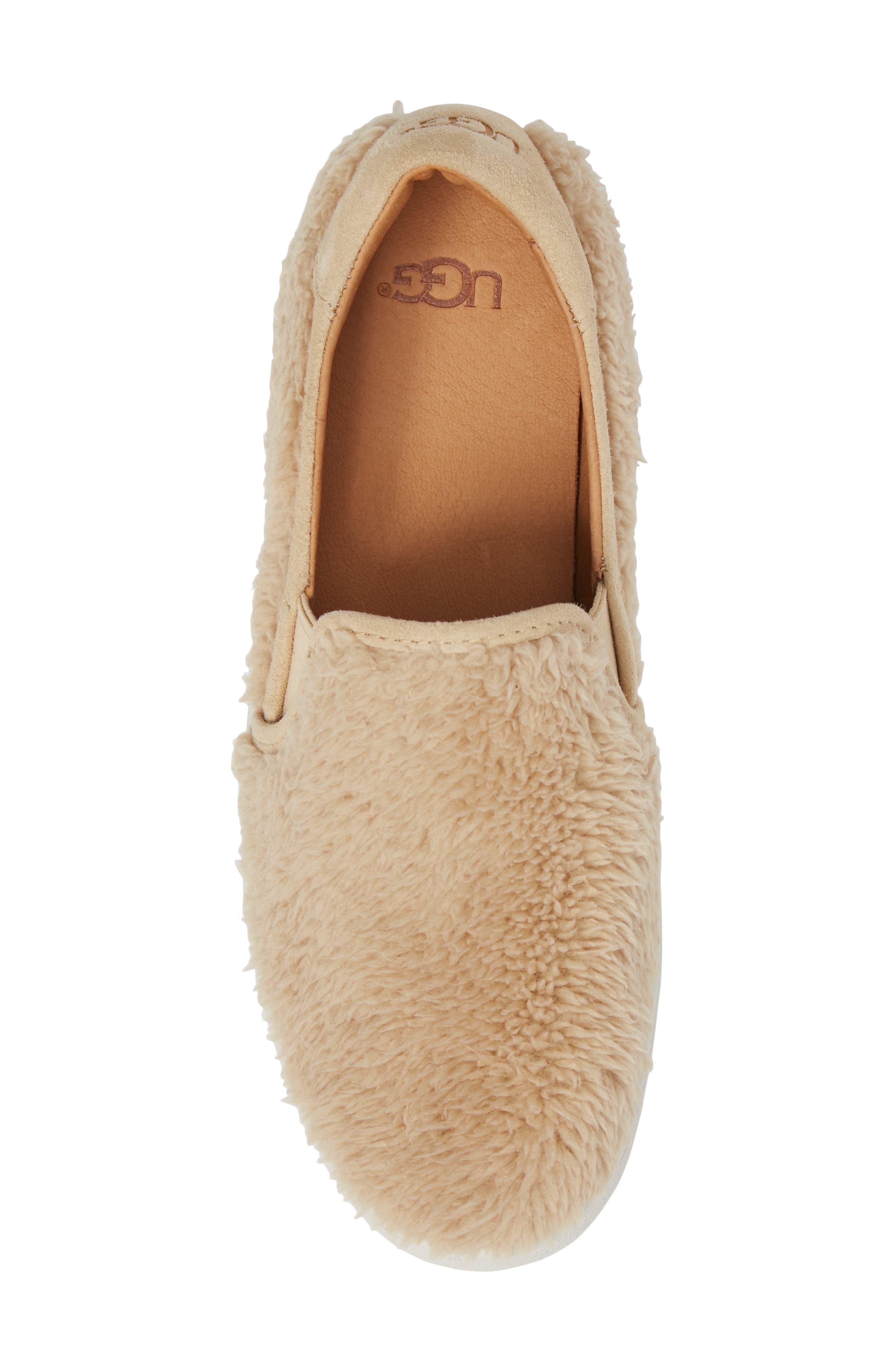 Alternate Image 5  - UGG® Ricci Plush Slip-On Sneaker (Women)