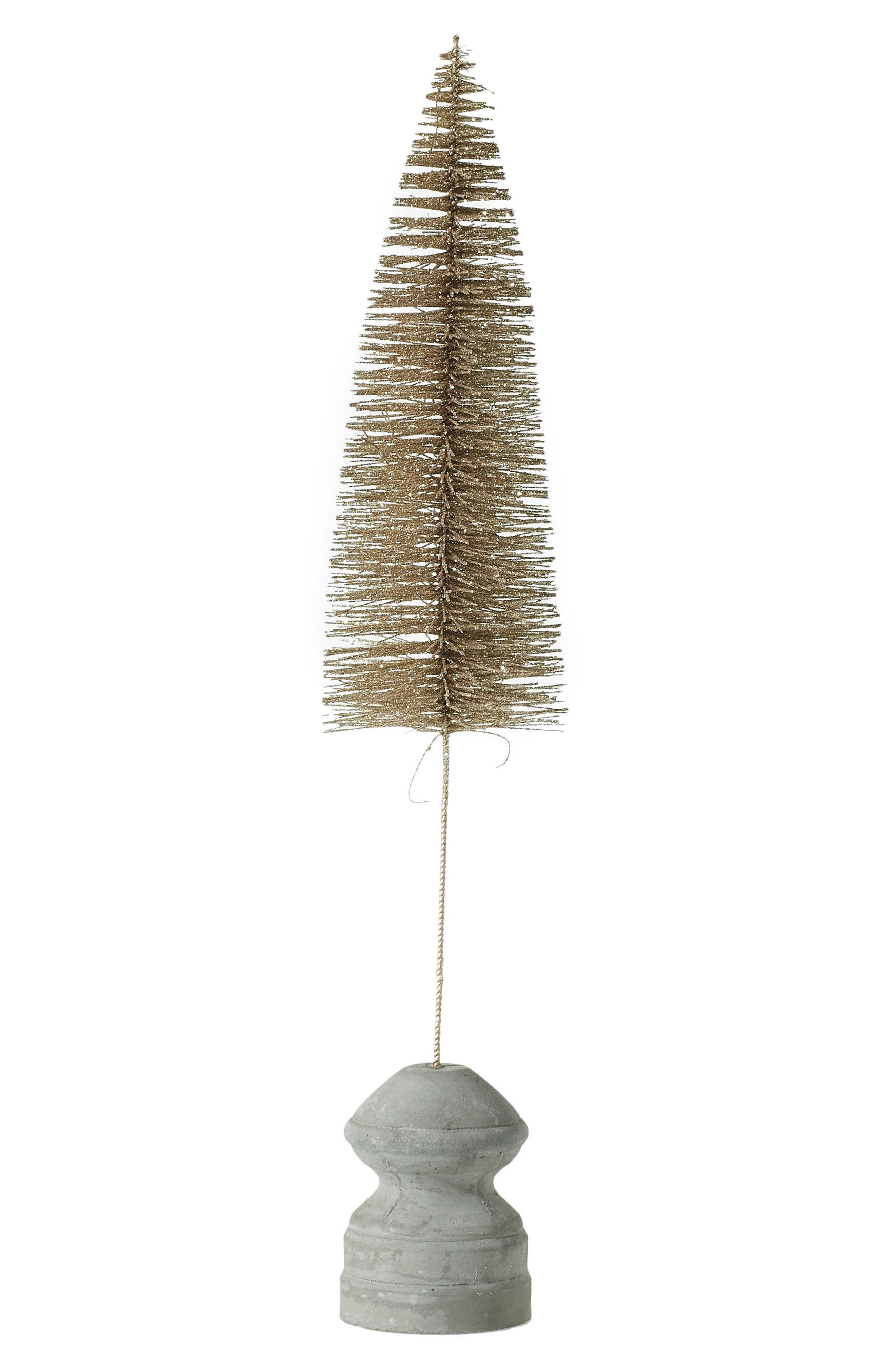 Main Image - Accent Decor Glitter Bottle Brush Tree