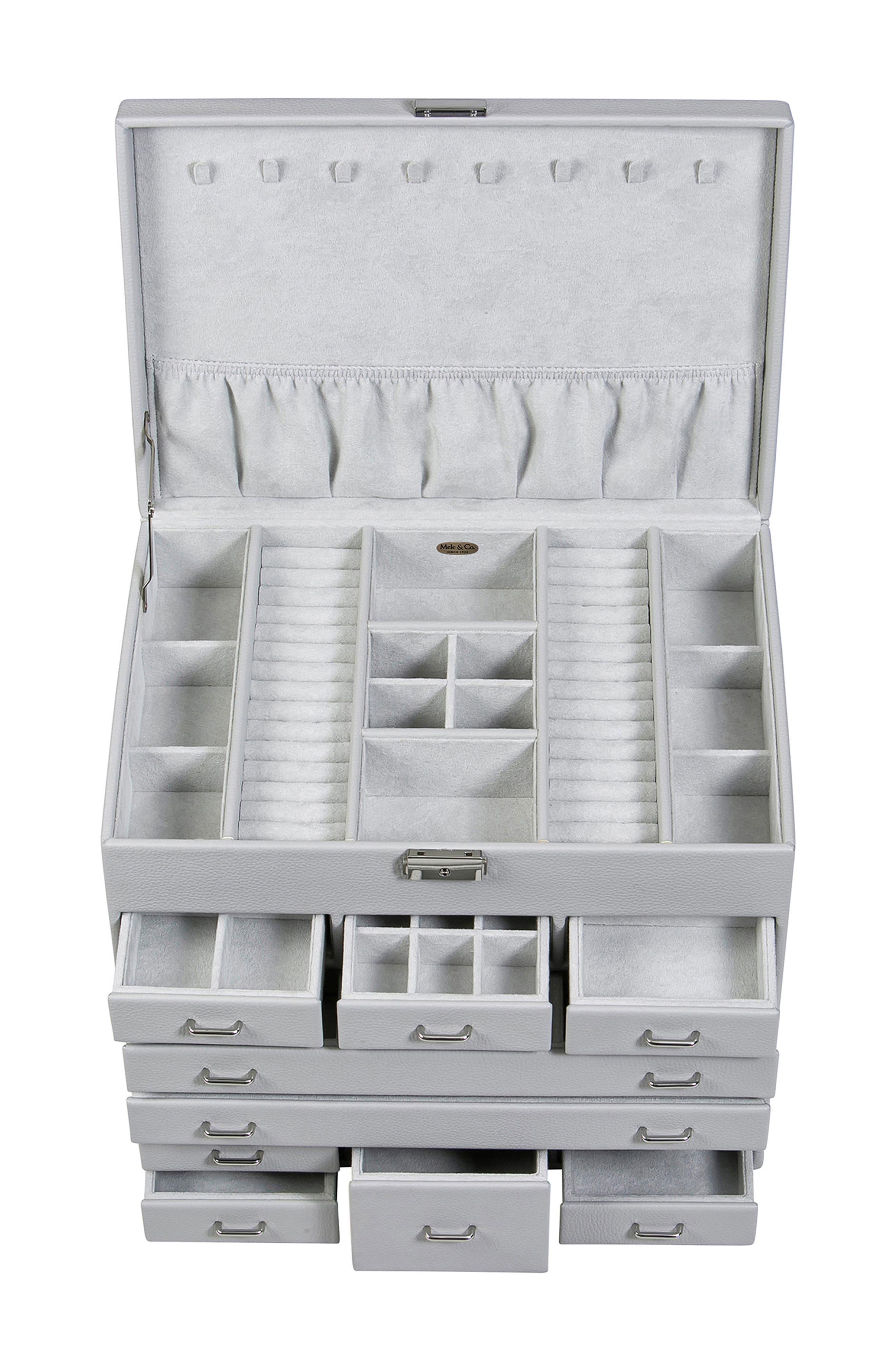 Alternate Image 3  - Mele & Co. Somerset Locking Jewelry Box