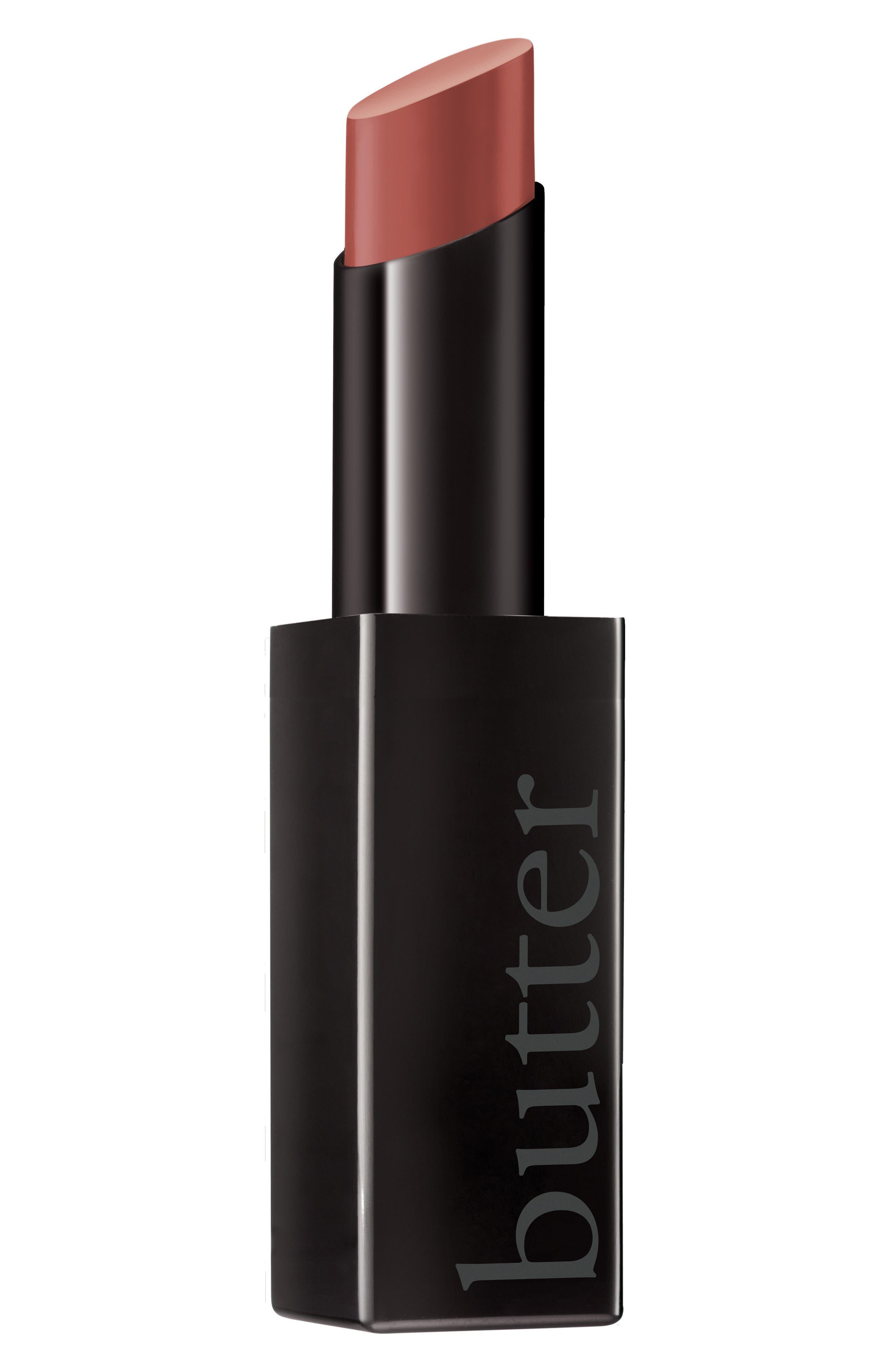 Plush Rush Satin Matte Lipstick,                             Main thumbnail 1, color,                             Strong