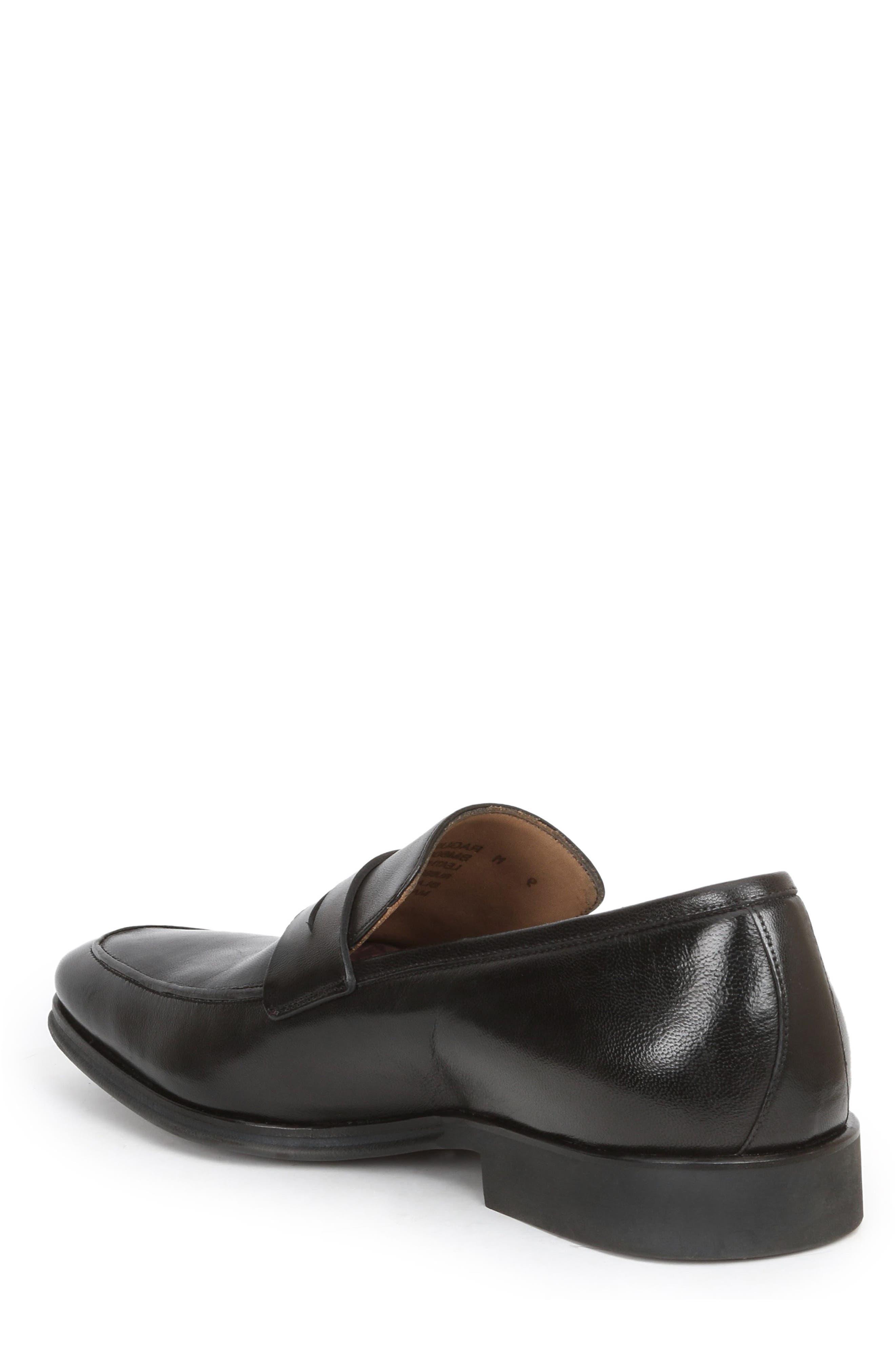 Ragusa Penny Loafer,                             Alternate thumbnail 2, color,                             Black Leather