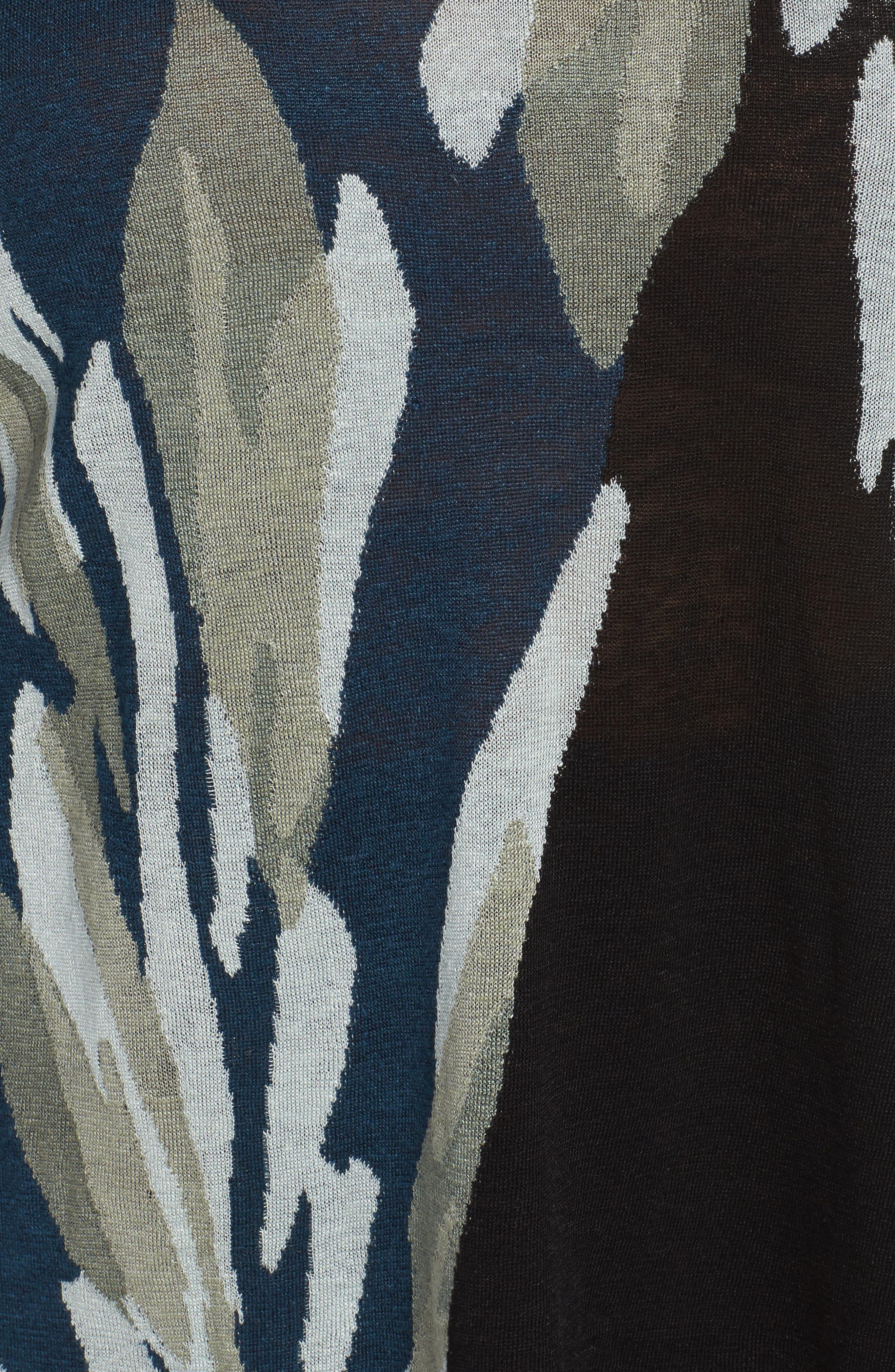 Wild Thyme Sweater,                             Alternate thumbnail 5, color,                             Multi