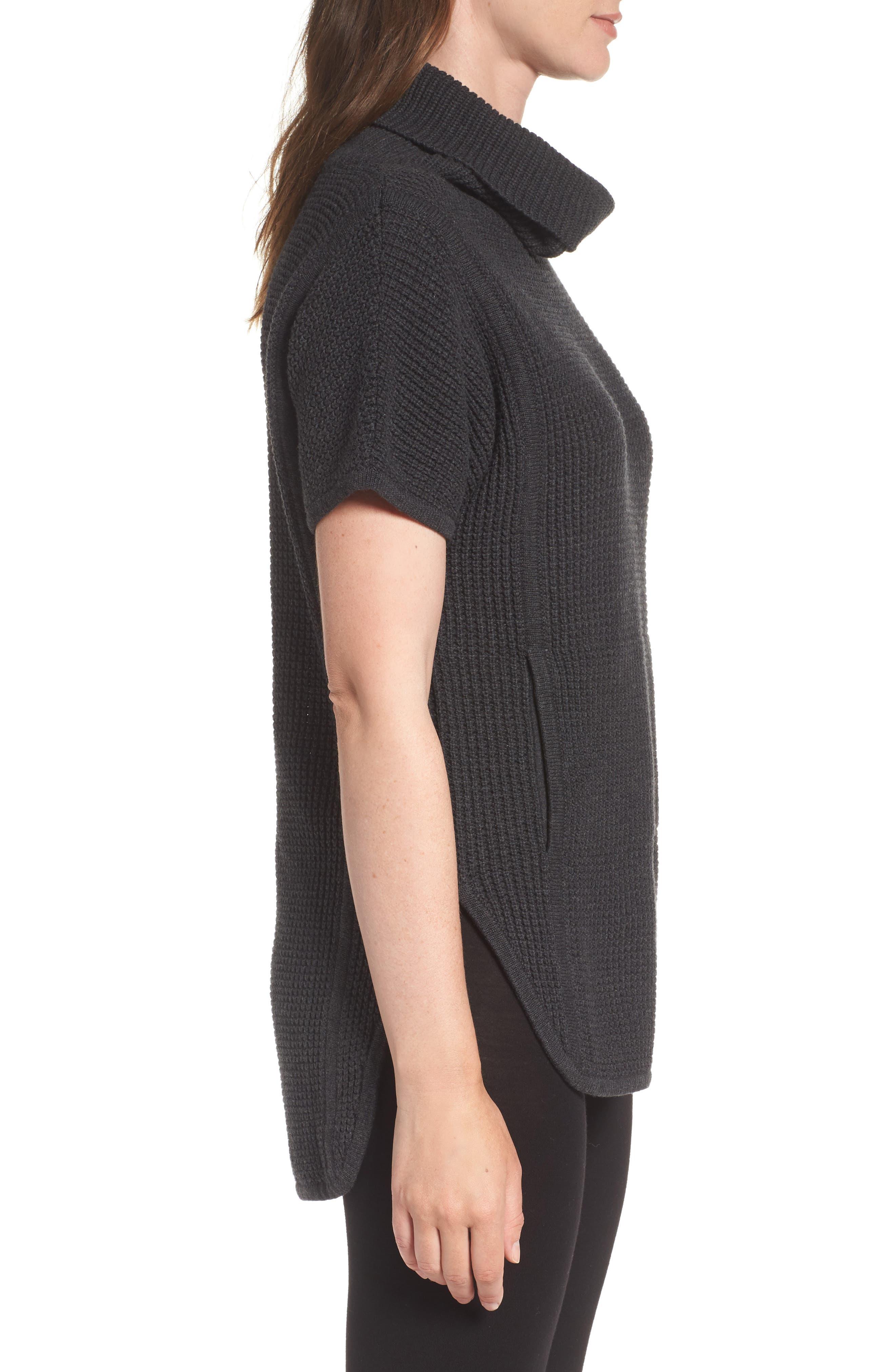 Alternate Image 3  - UGG® 'Selby' Turtleneck Cotton Knit Pullover