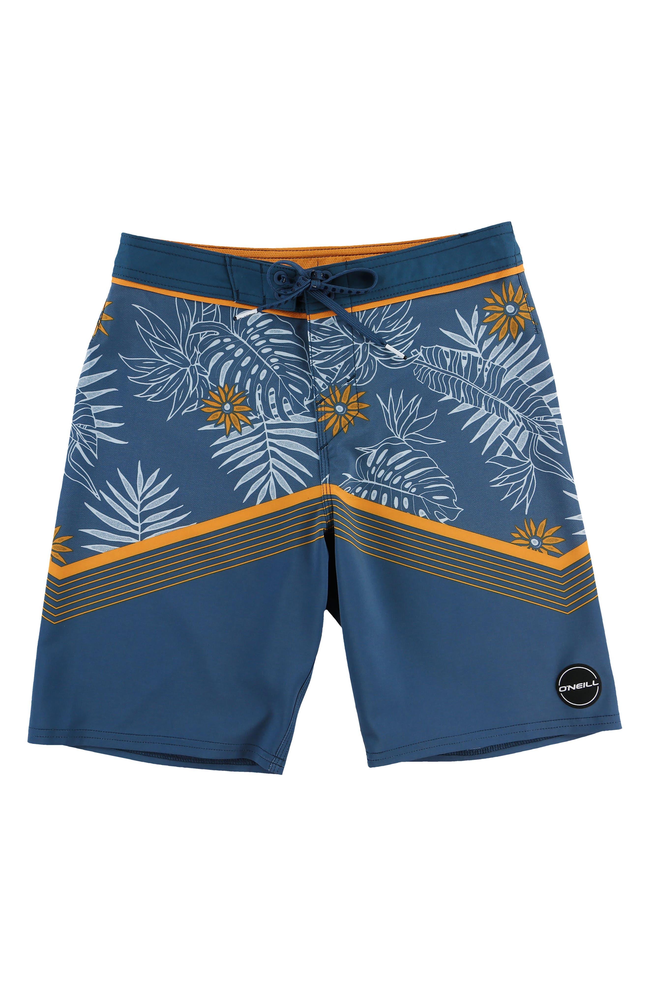 Hyperfreak Tradewinds Board Shorts,                         Main,                         color, Ocean