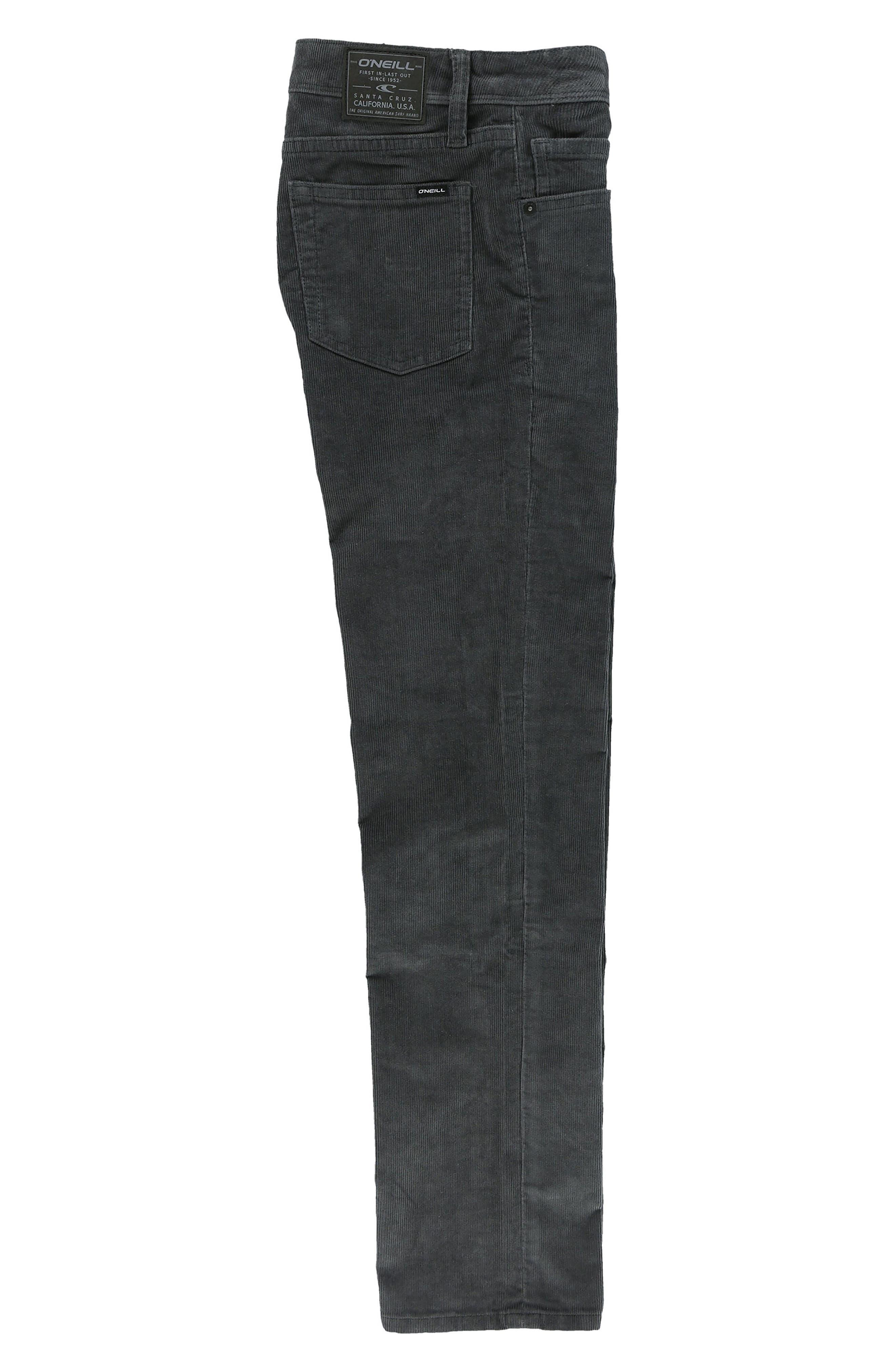Alternate Image 3  - O'Neill The Straight Corduroy Pants