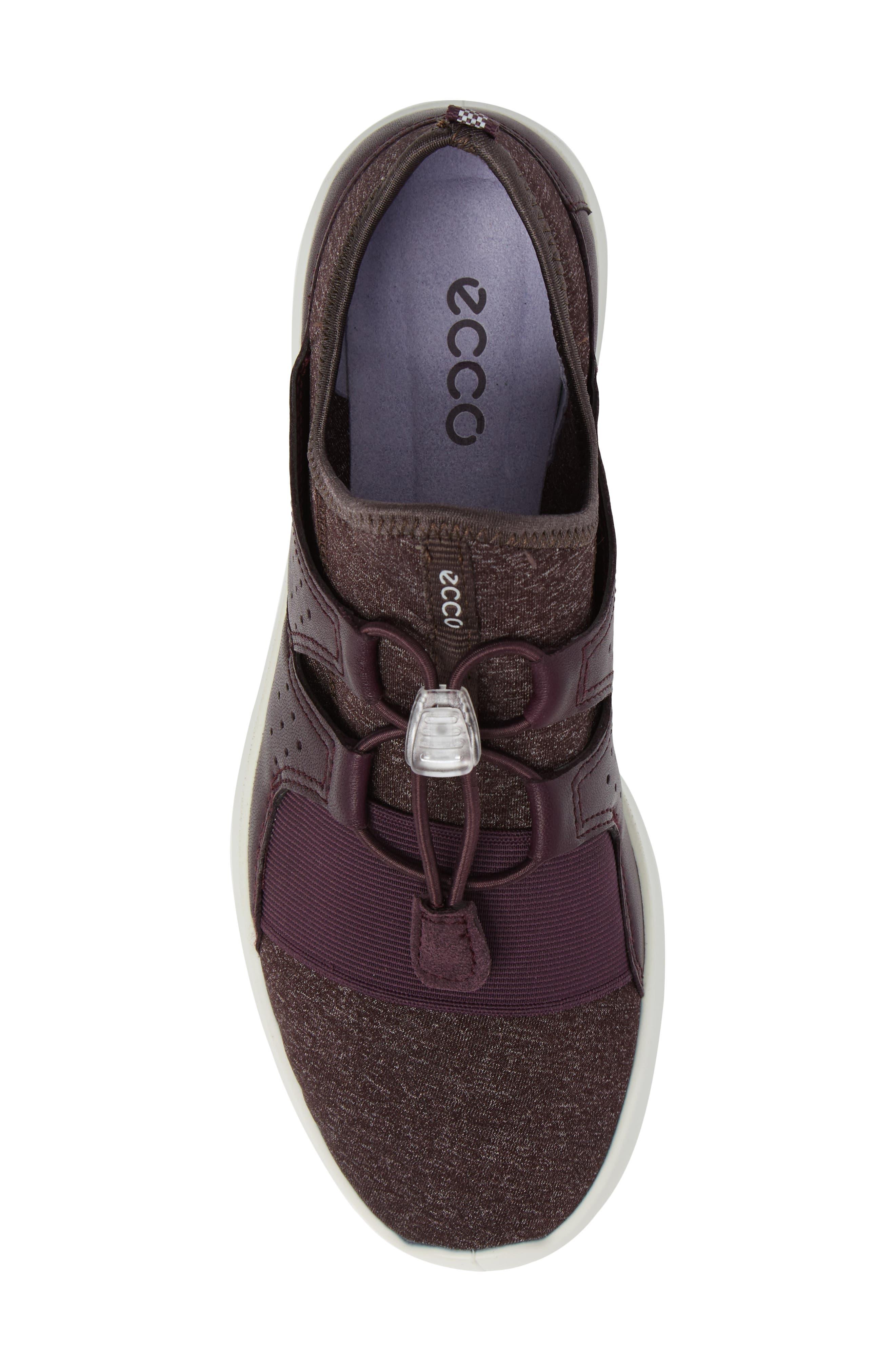 Sense Toggle Sneaker,                             Alternate thumbnail 5, color,                             Mauve Leather