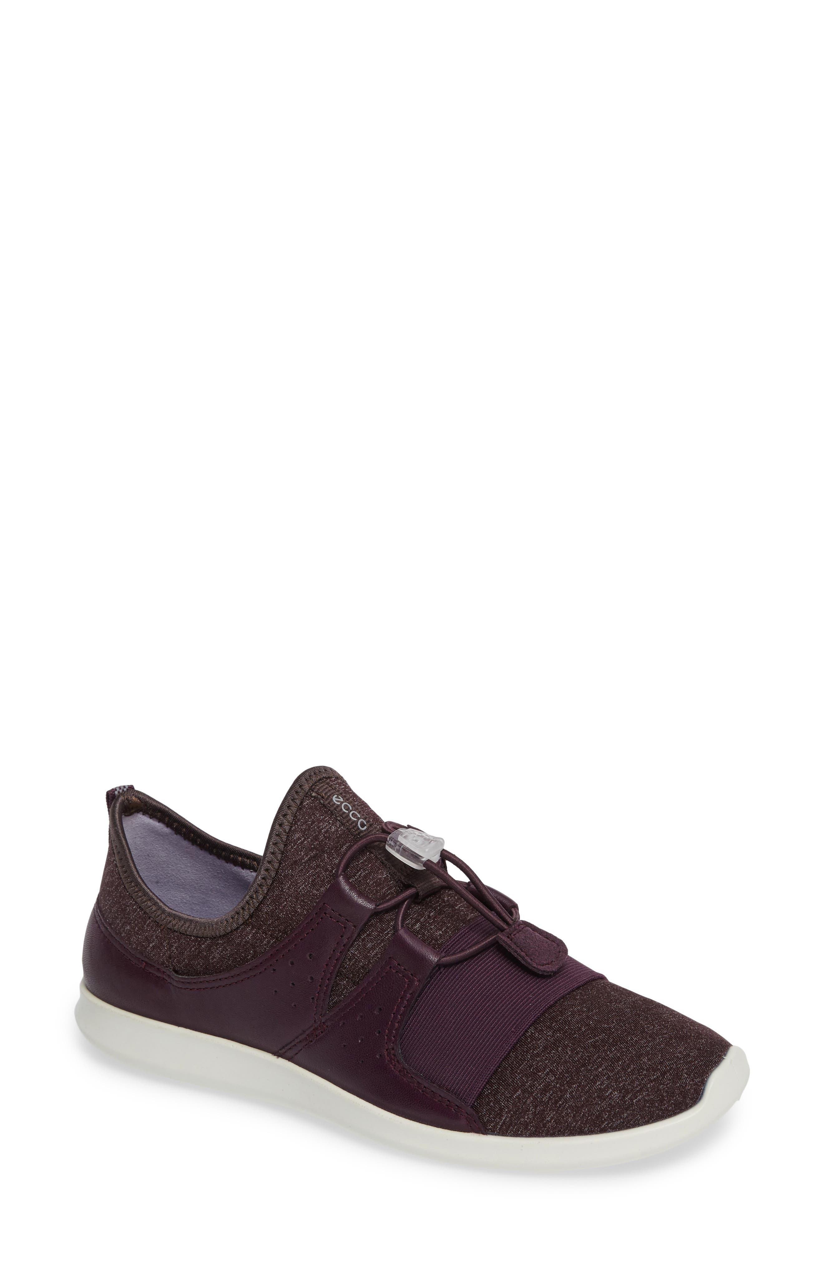 Sense Toggle Sneaker,                         Main,                         color, Mauve Leather