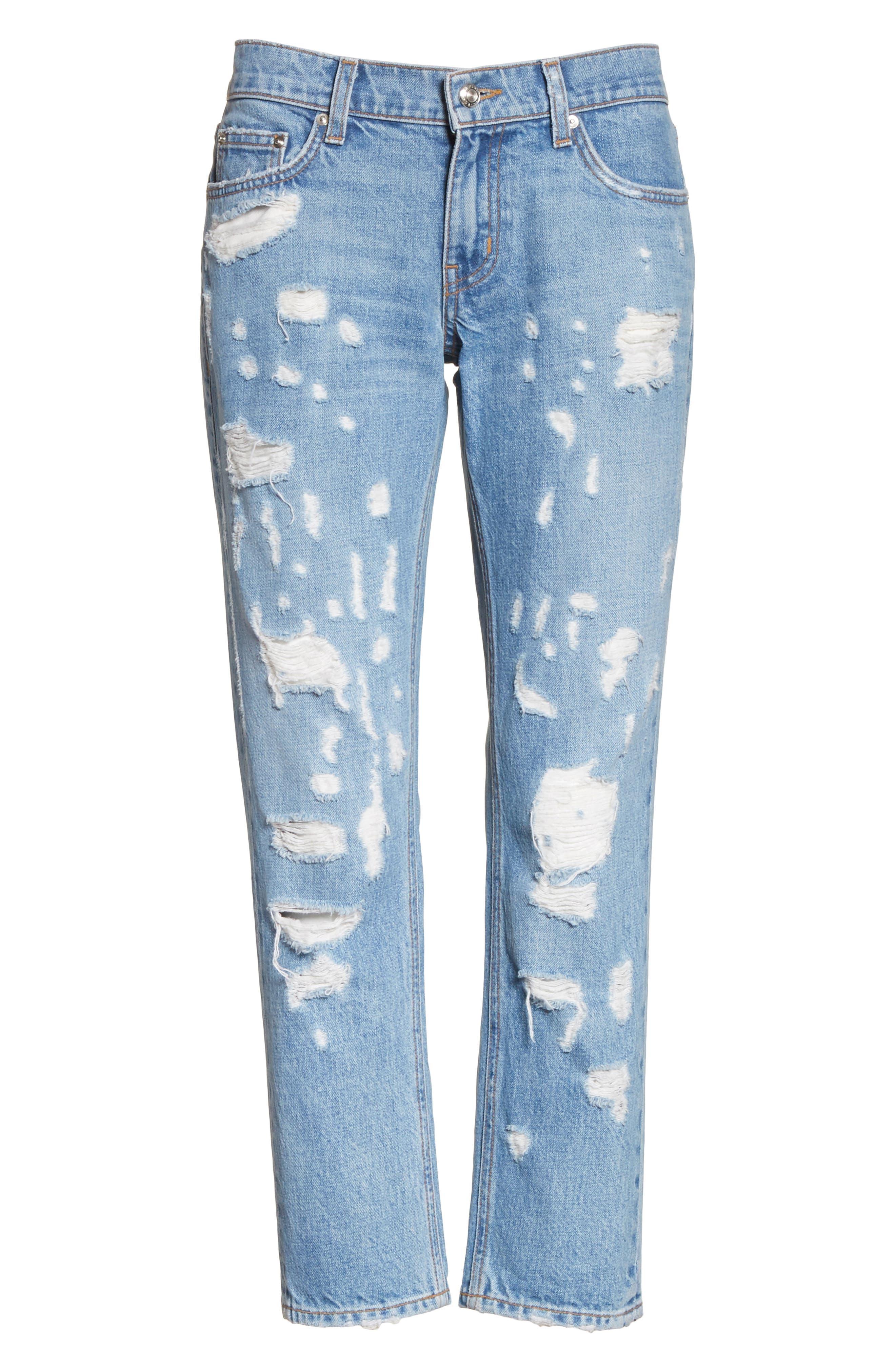 Alternate Image 6  - Derek Lam 10 Crosby Mila Slim Girlfriend Jeans
