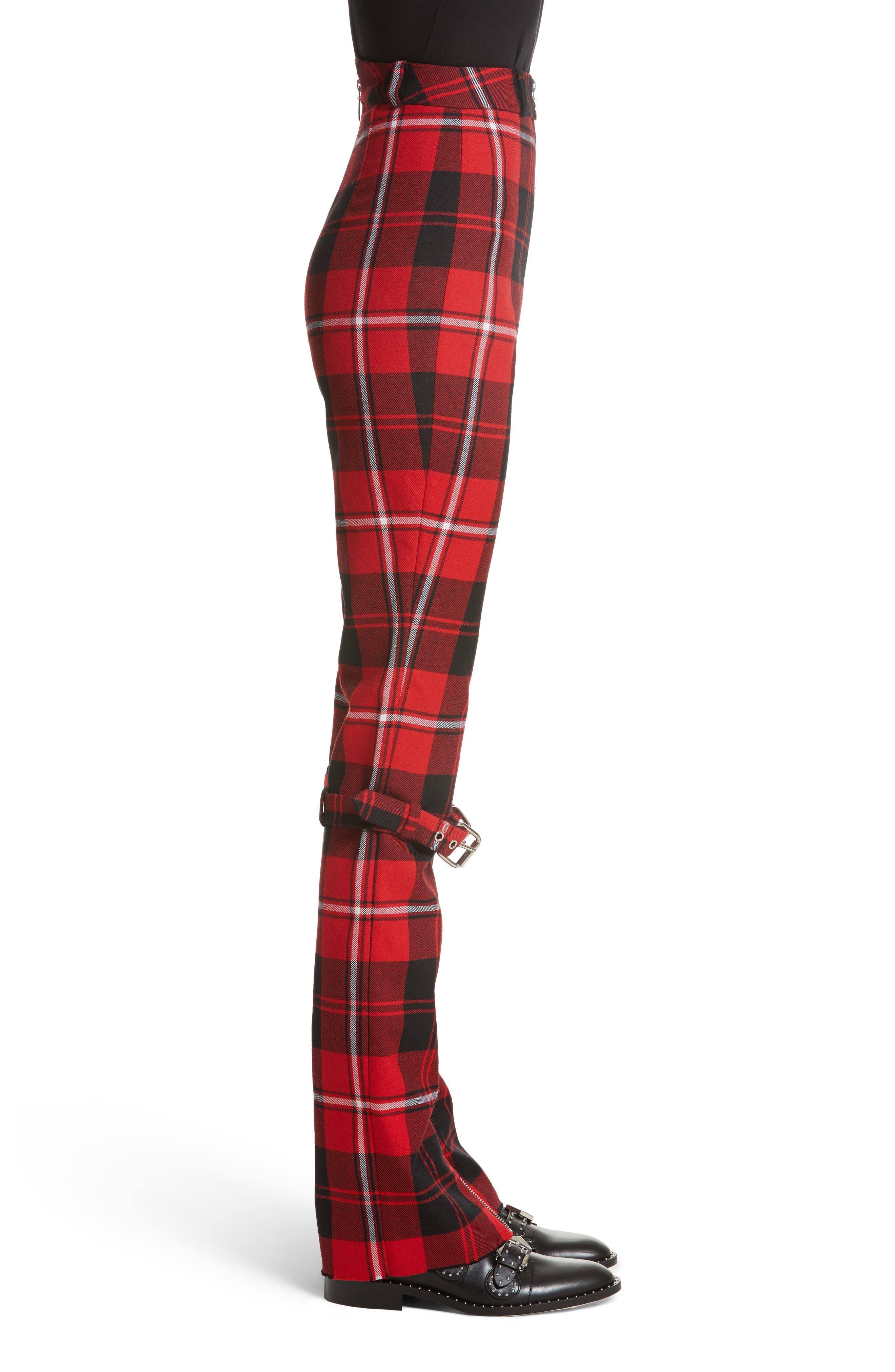 Alternate Image 3  - Dilara Findikoglu Manson Tartan Plaid Wool Pants