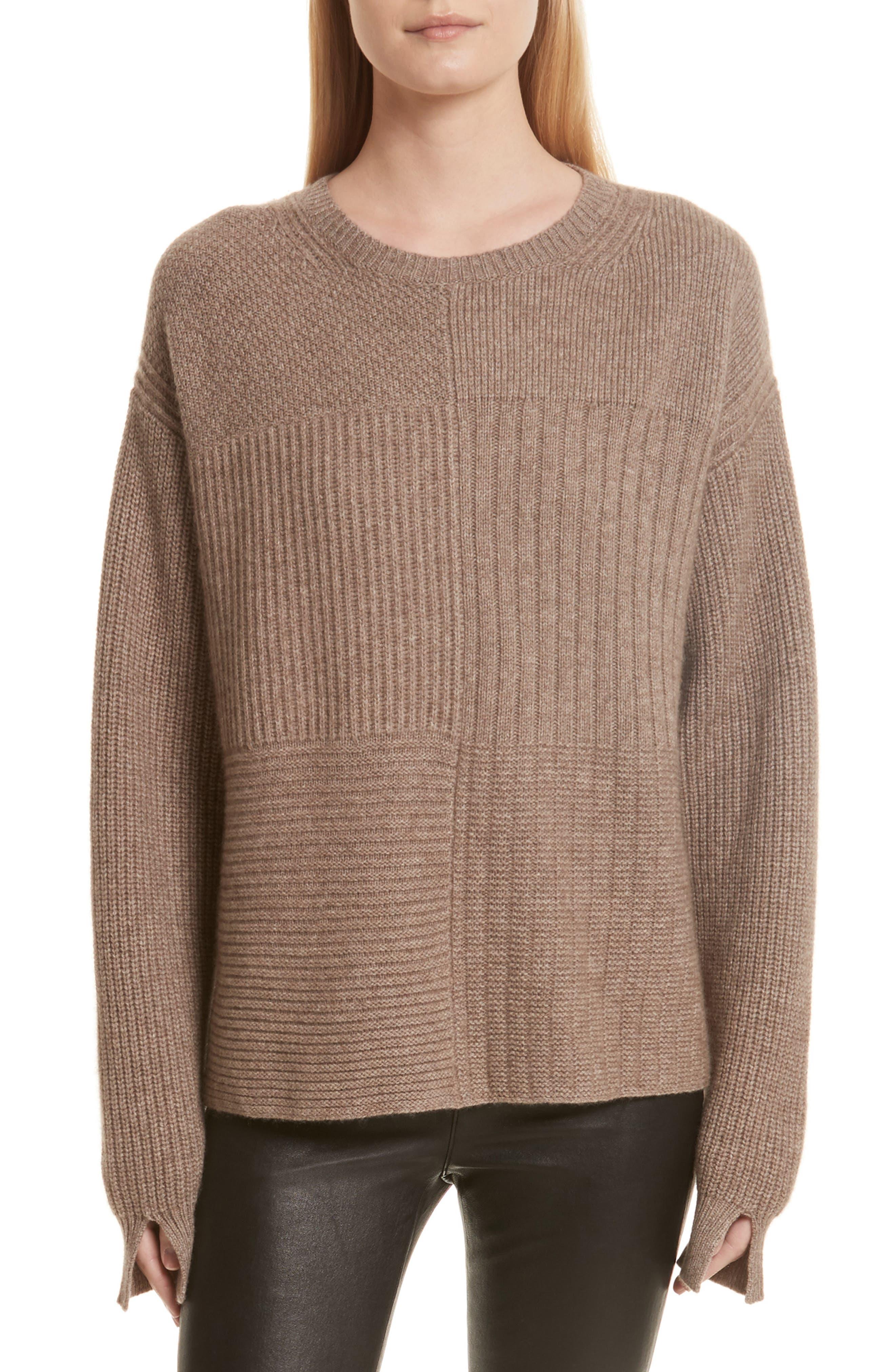 Helmut Lang Wool Blend Textured Pullover