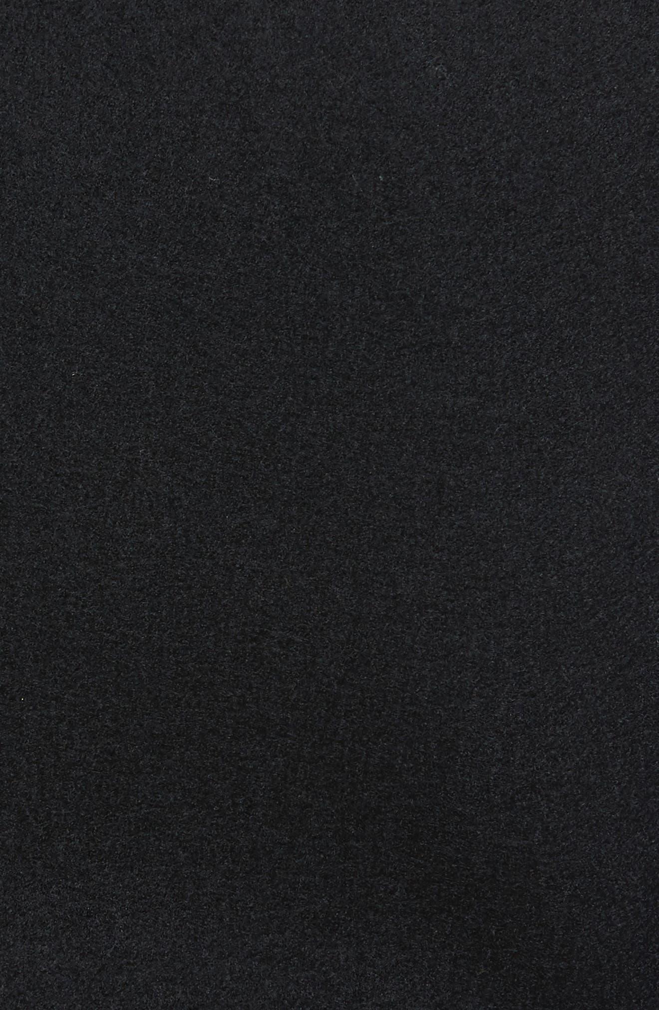 Wool Vest,                             Alternate thumbnail 6, color,                             Black