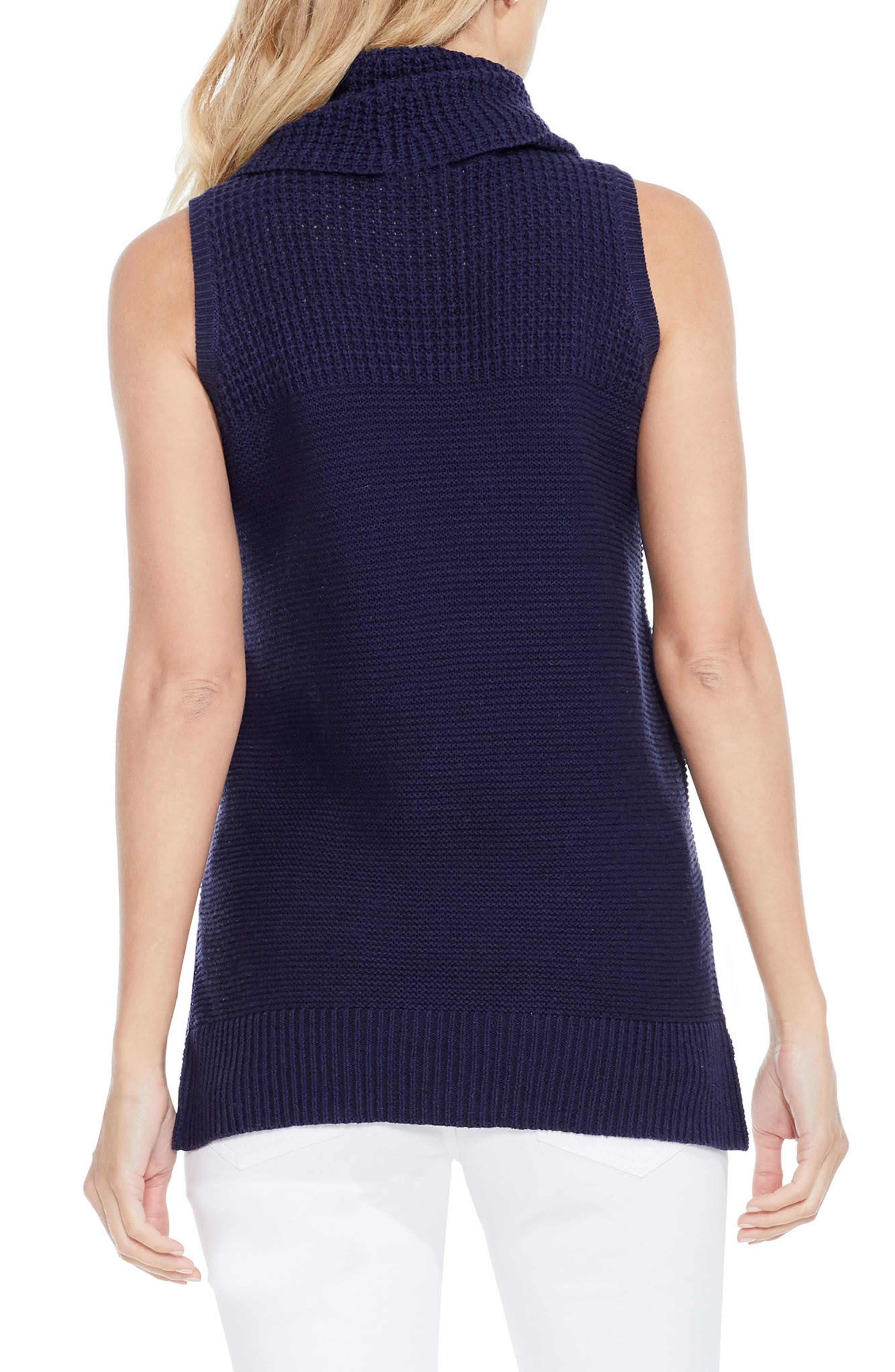 Alternate Image 2  - Two by Vince Camuto Sleeveless Cowl Neck Sweater