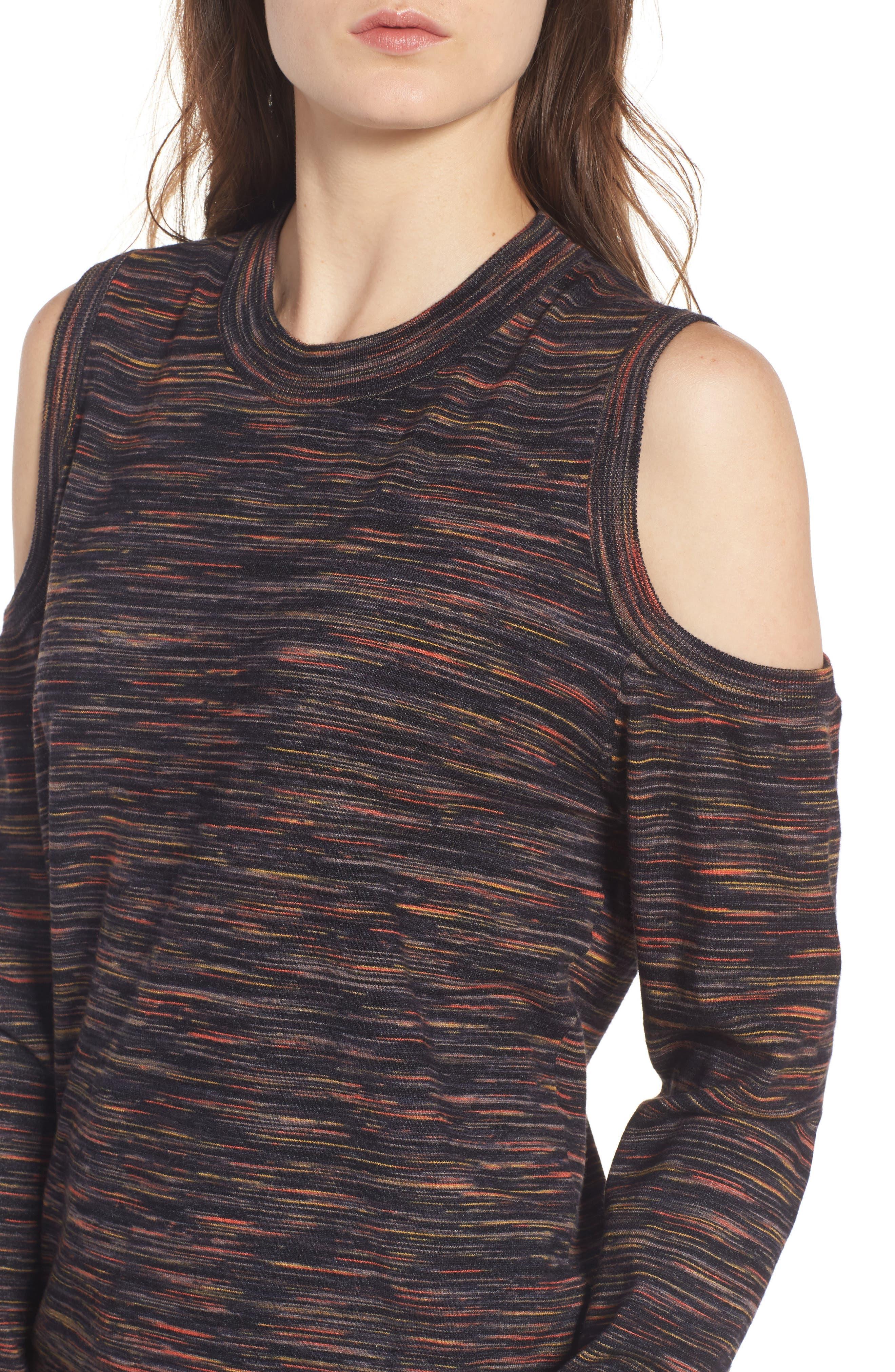 Alternate Image 4  - Rebecca Minkoff Page Cold Shoulder Sweater