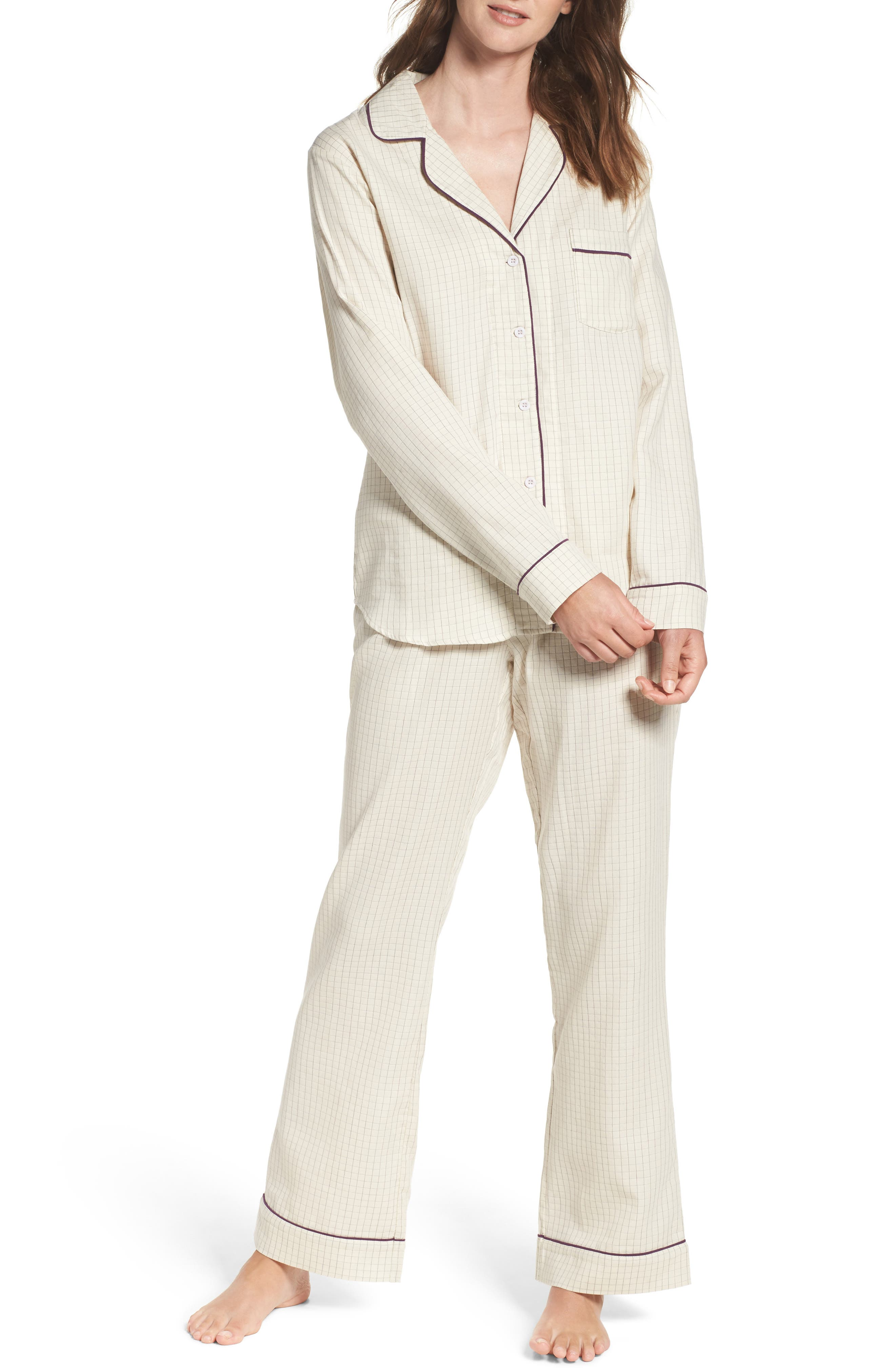 Alternate Image 1 Selected - UGG® Raven Check Pajamas