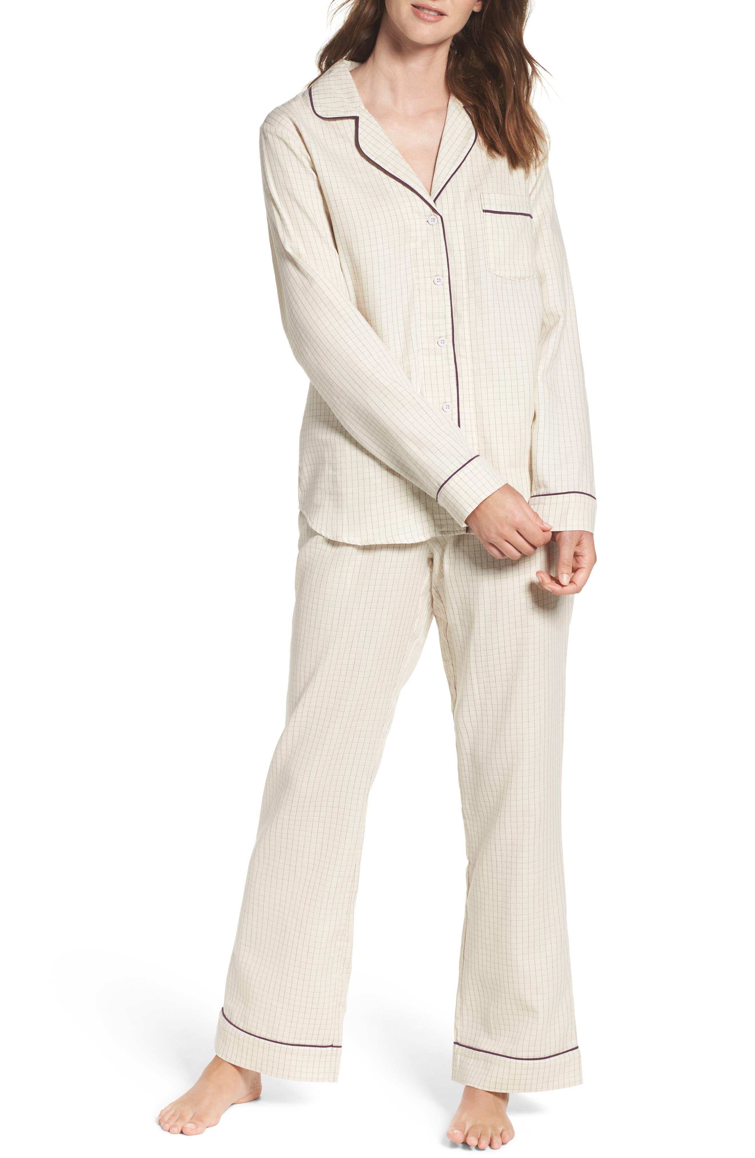 Main Image - UGG® Raven Check Pajamas